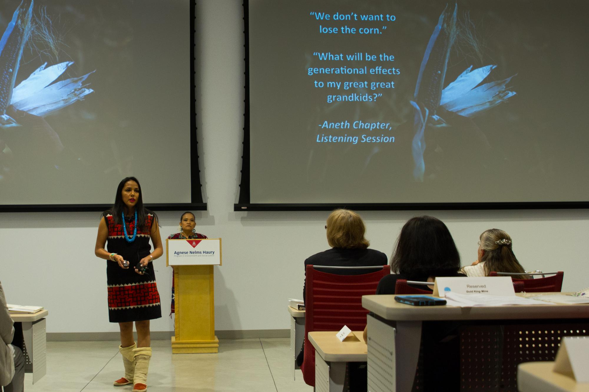 """Janene Yazzie: """"When a river is contaminated, the full loss cannot be quantified."""""""
