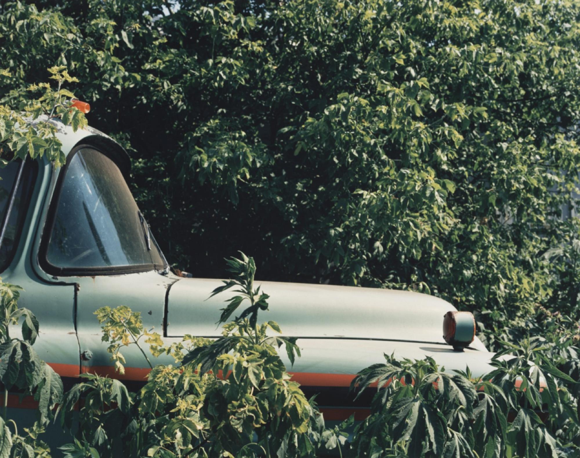 Small Farm and Vehicle Junkyard near Hampshire, Illinois, 1991