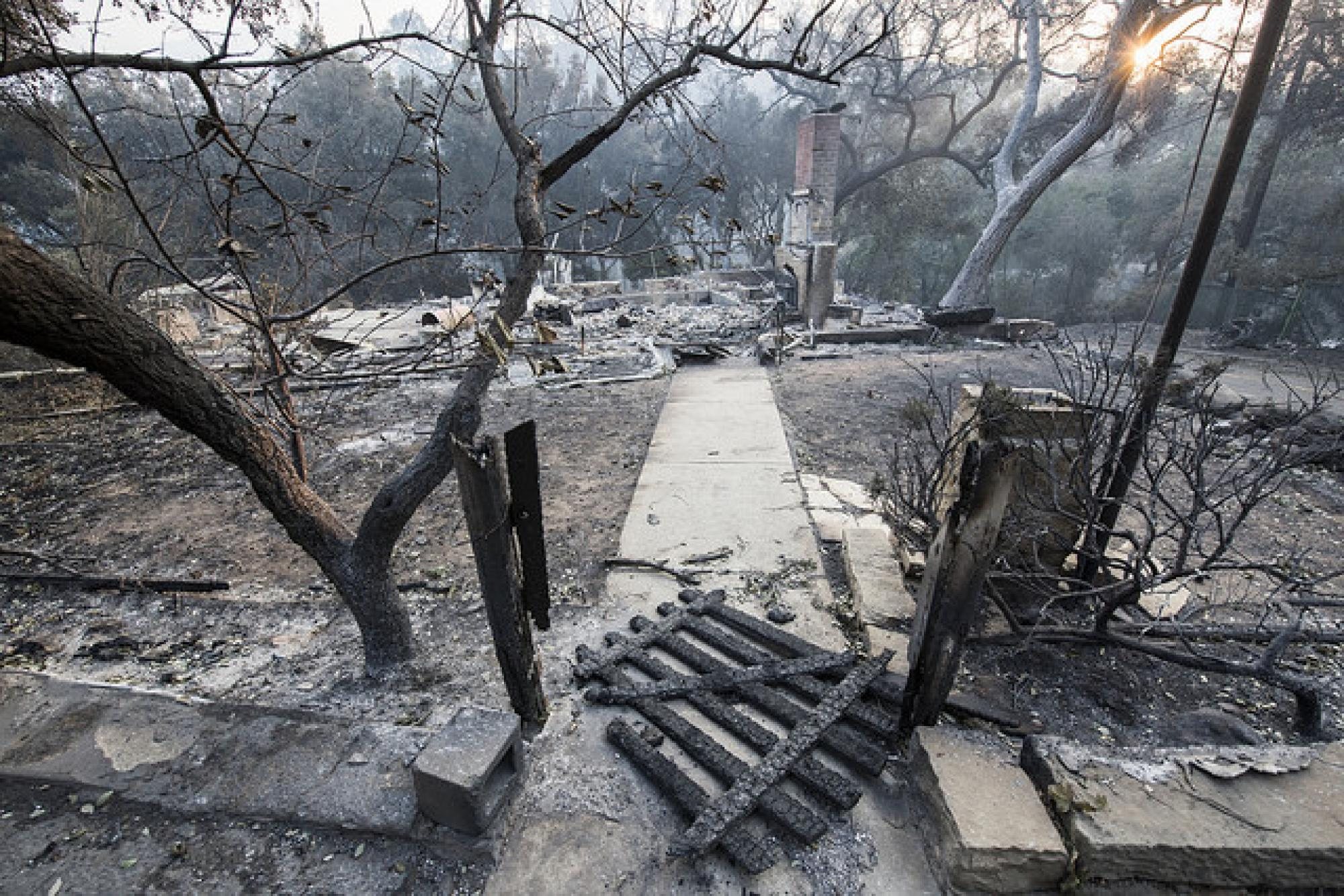 Thousands of homes and buildings were destroyed in the Thomas Fire, which is estimated to have a total cost of more than $180 billion.