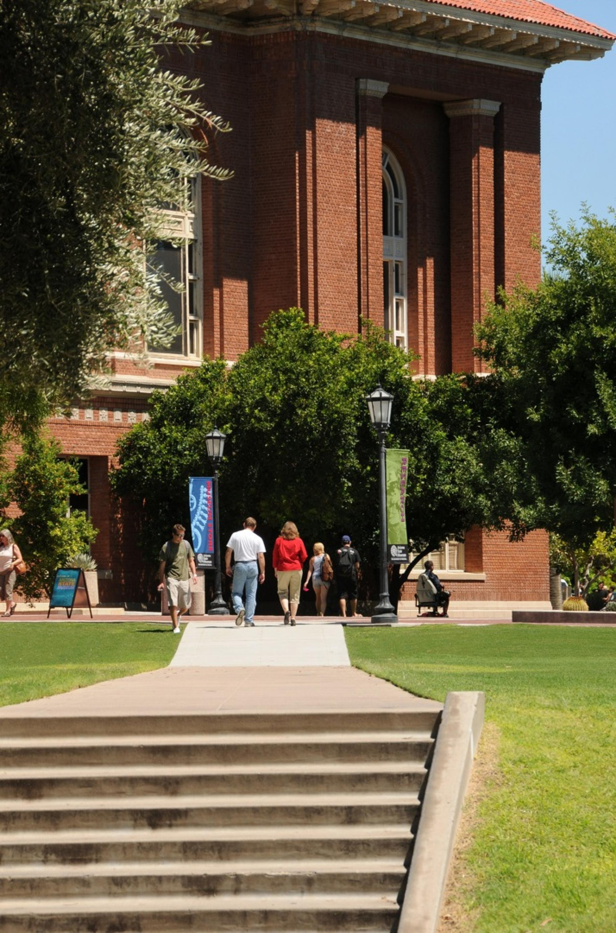 The UA is the only land-grant university in Arizona.