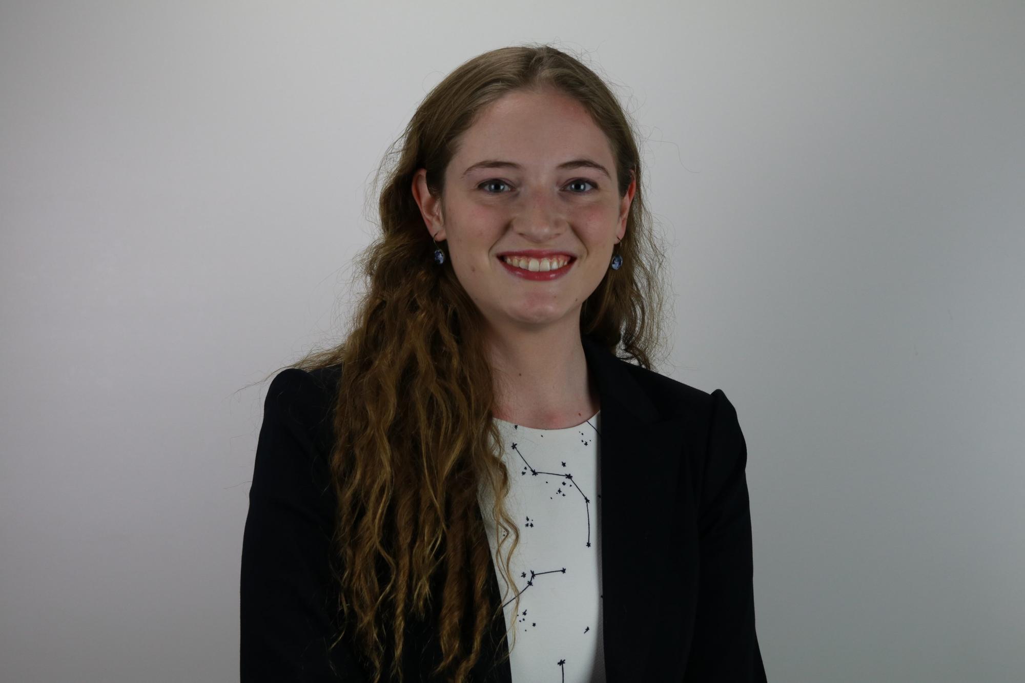 Jenny Calahan will begin graduate studies at the University of Michigan this fall.