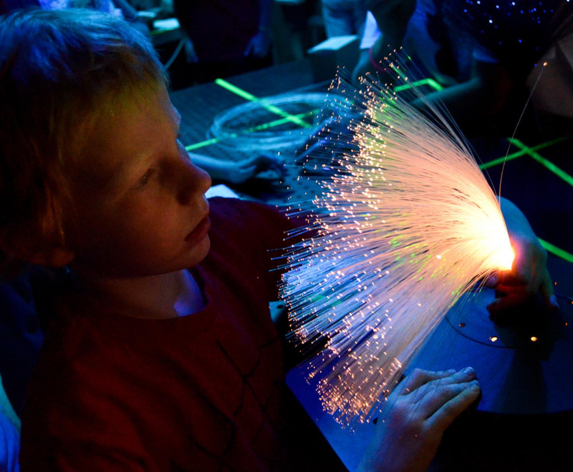 In celebration of its 50th anniversary this year, the UA College of Optical Sciences will hold its fourth annual Laser Fun Day to bring the science of optics alive for elementary and middle school students.