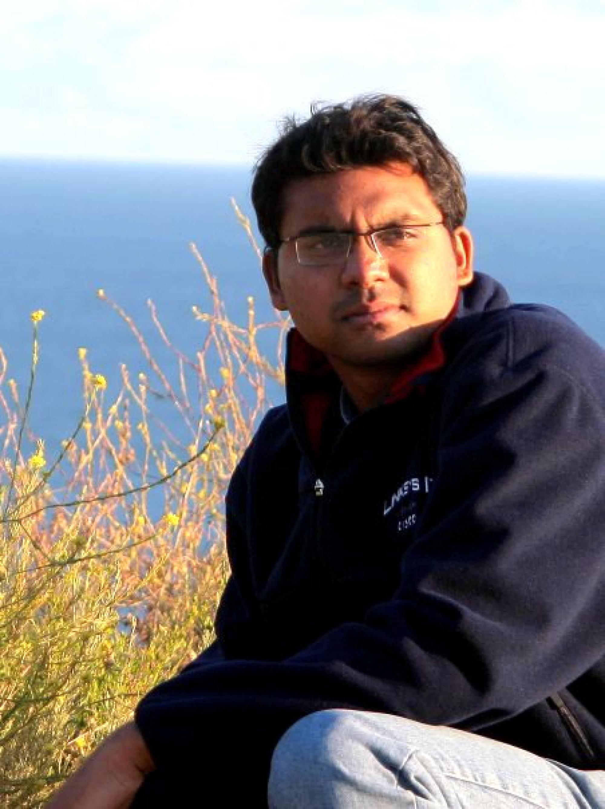 Doctoral candidate Ashwin Naidu has a dream to start a forensics lab that will work towards conservation of endangered wild animals and help to fight against wildlife crime.