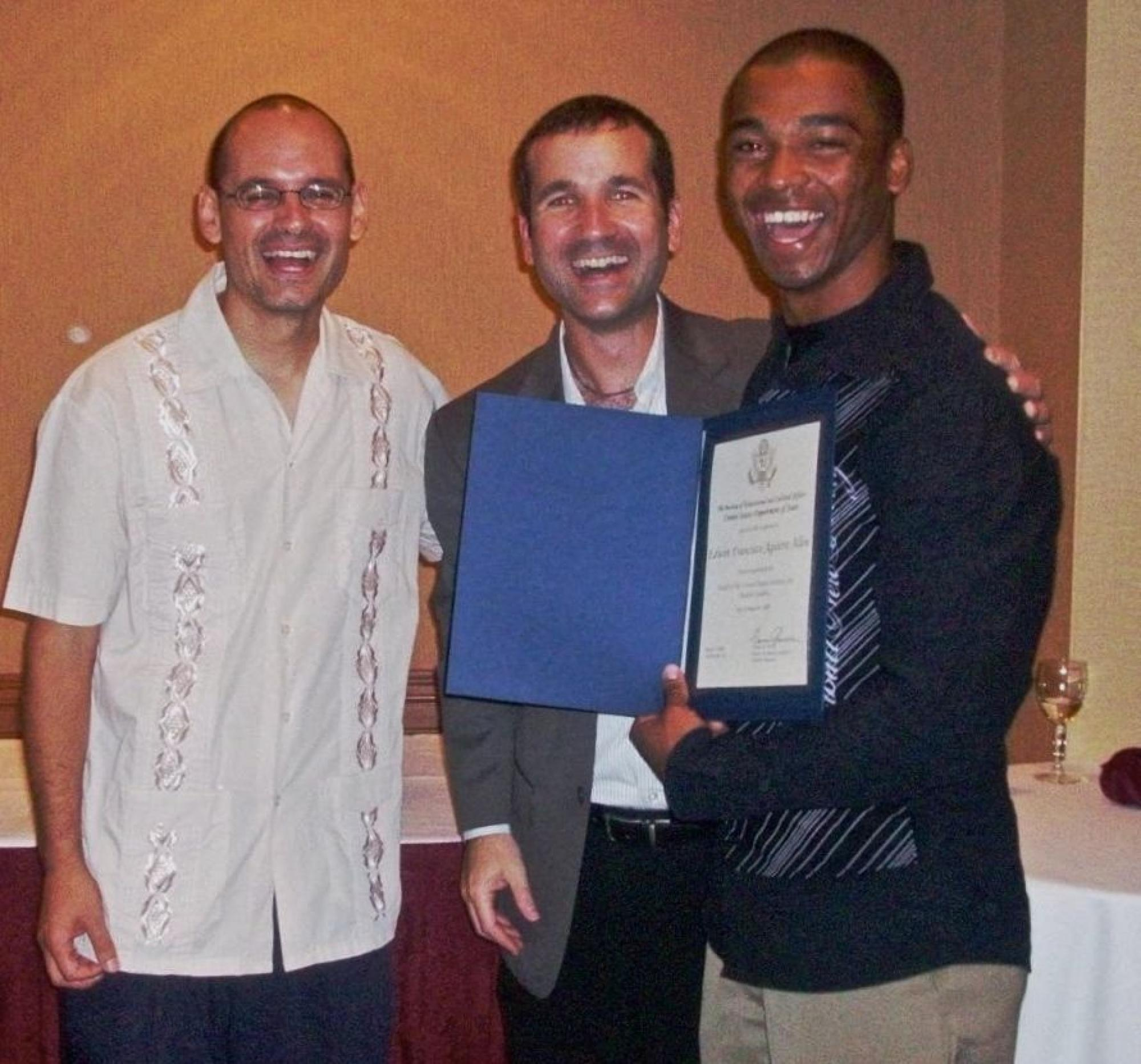 Edwin Francisco Agurre Allen, who is from Nicaragua, completed the UA program in 2008.