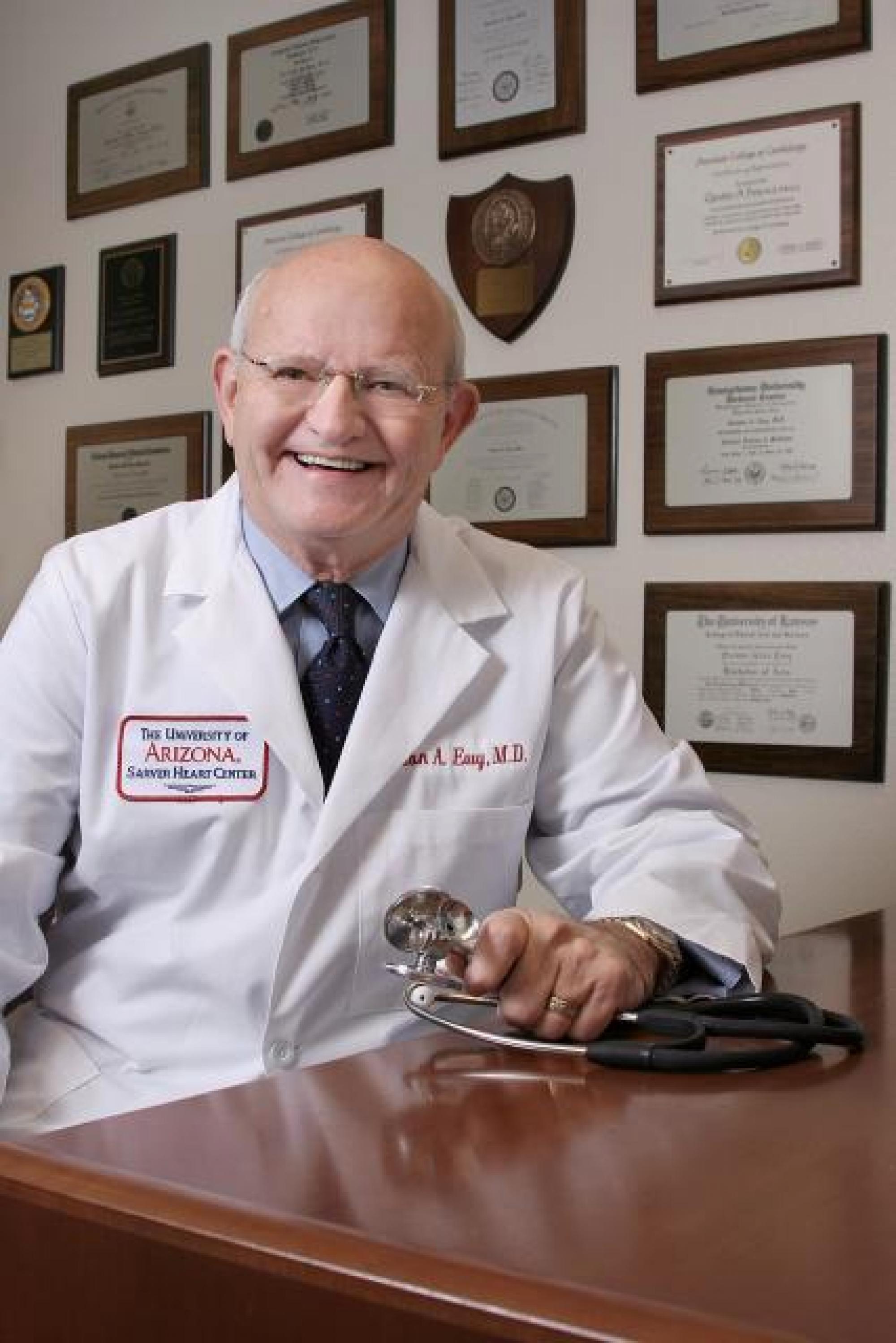 Sarver Heart Center Director Gordon A. Ewy