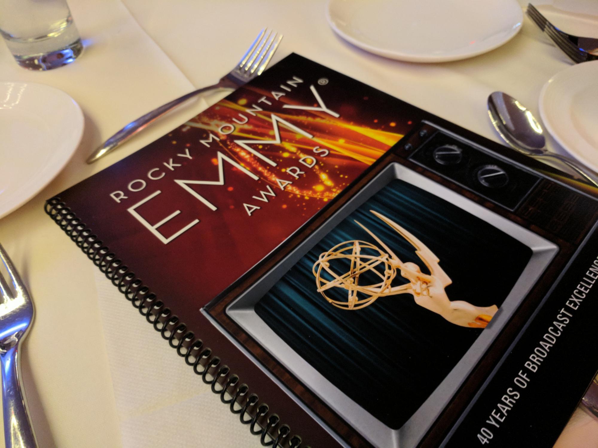 Rocky Mountain Emmy Awards booklet