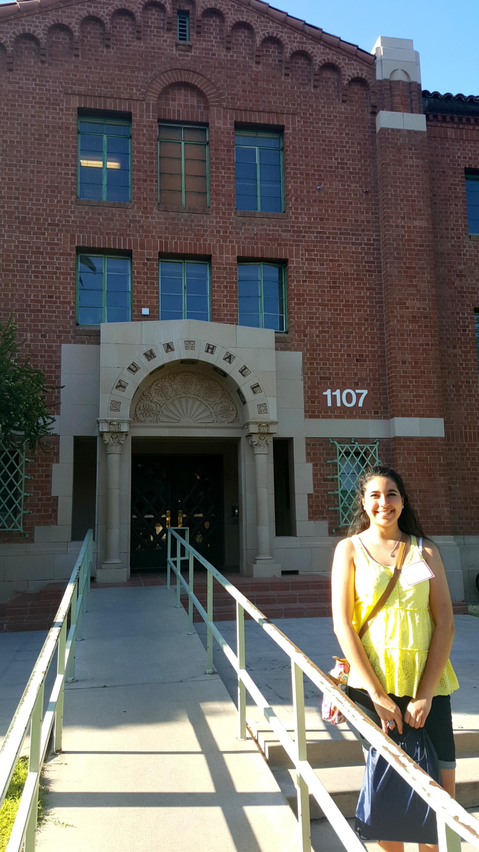 Kathia Antillon, who transferred in from high school with credits from Rio Salado Community College, is a UA student in STEM.