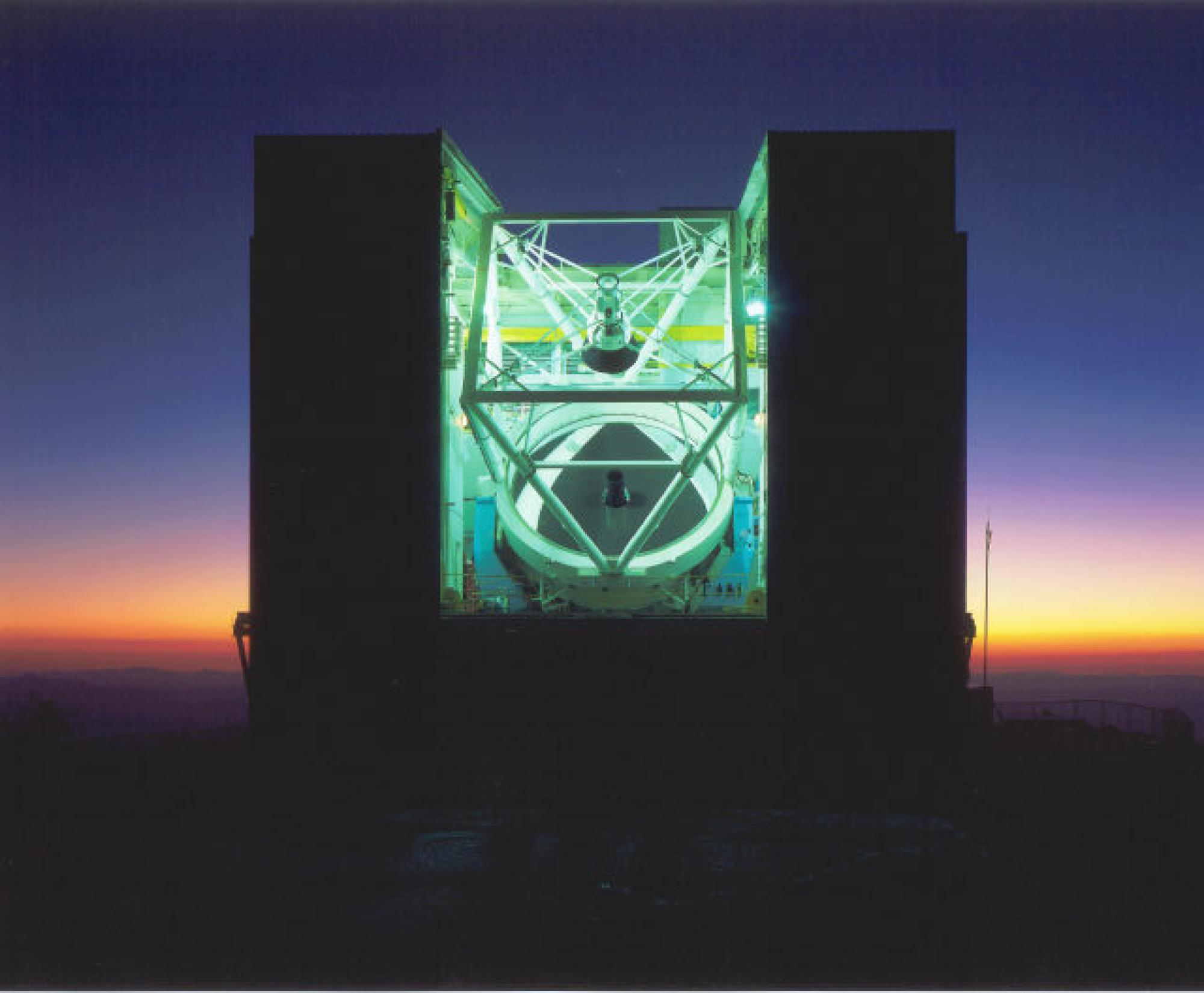The 21-foot diameter MMT Observatory on Mount Hopkins, Ariz.