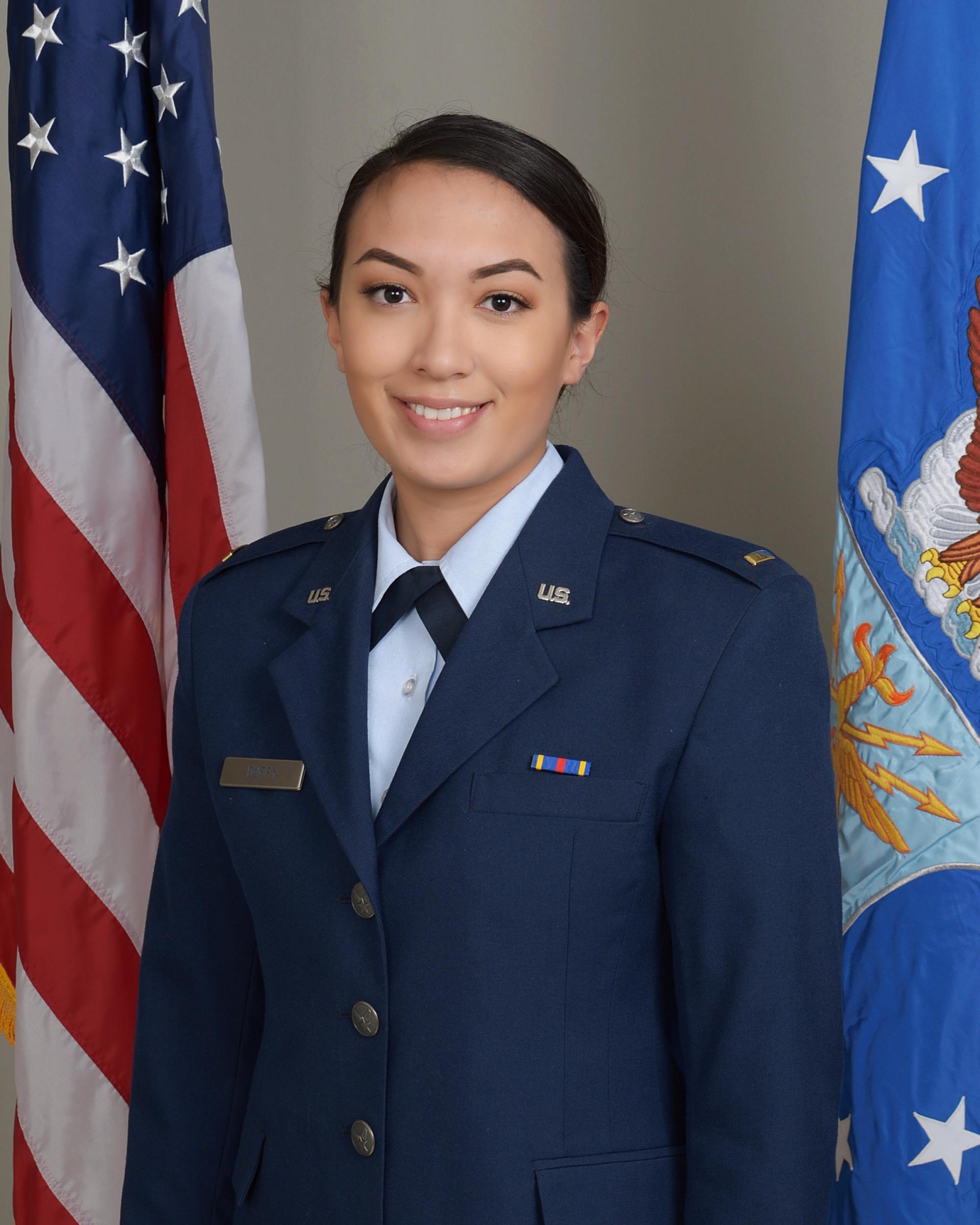 UA alumna Maria Miller will soon be working as a logistics readiness officer at Aviano Air Force Base in Aviano, Italy.