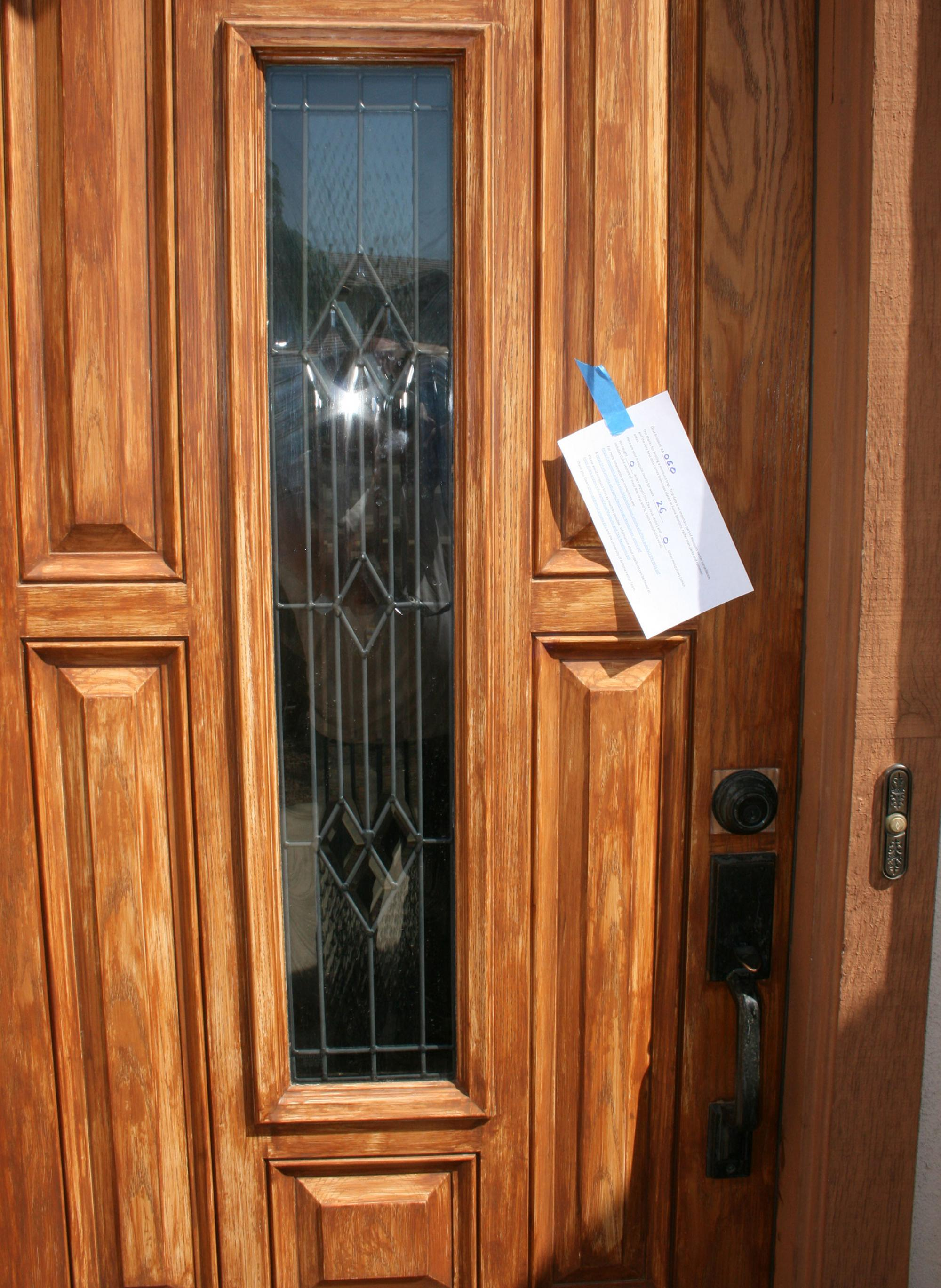 Maricopa County residents responded positively to door notices seeking volunteers to participate in the mosquito study.