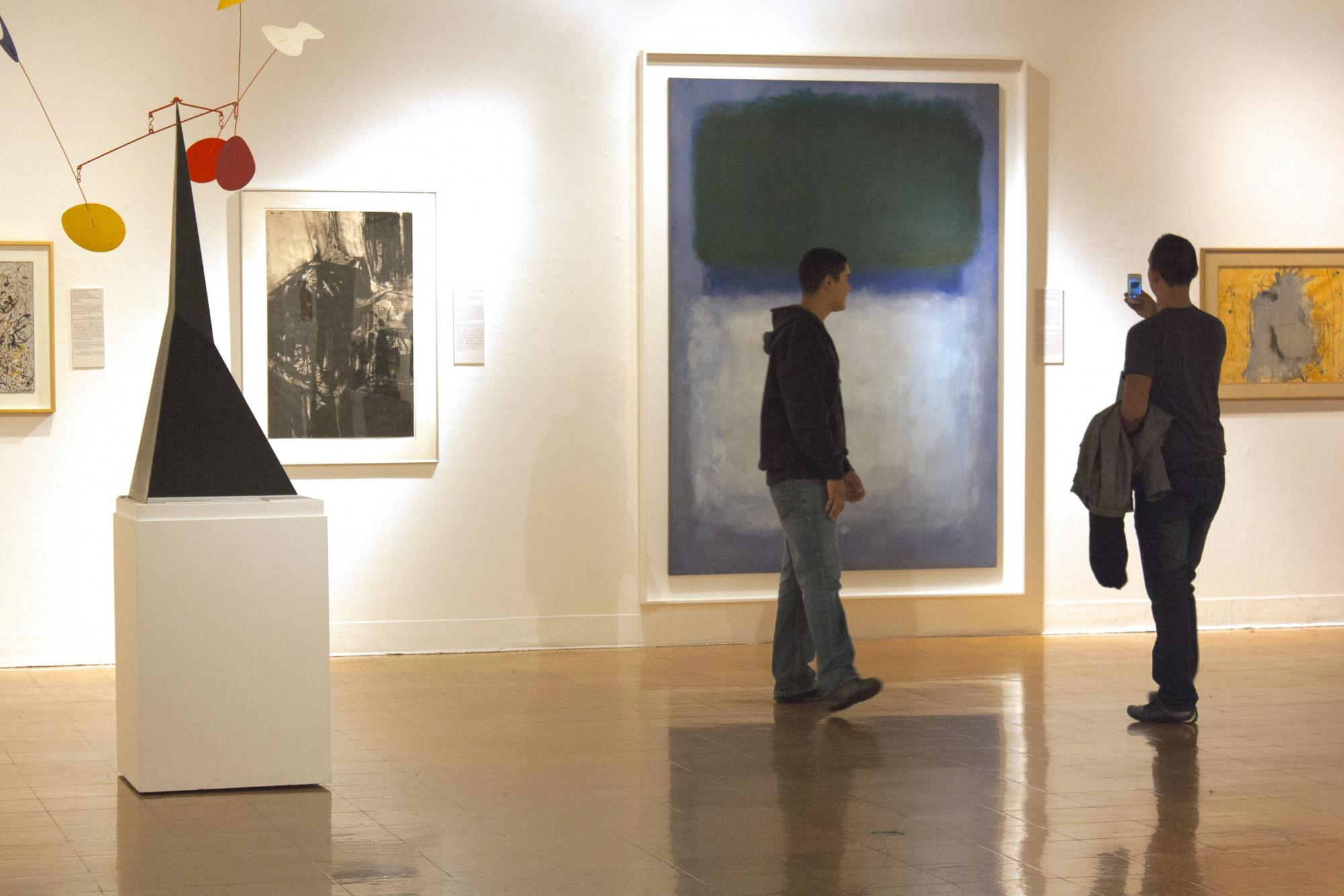 The UAMA holdings include works by globally-recognized artists like Mark Rothko, Georgia O'Keeffe and Andy Warhol.