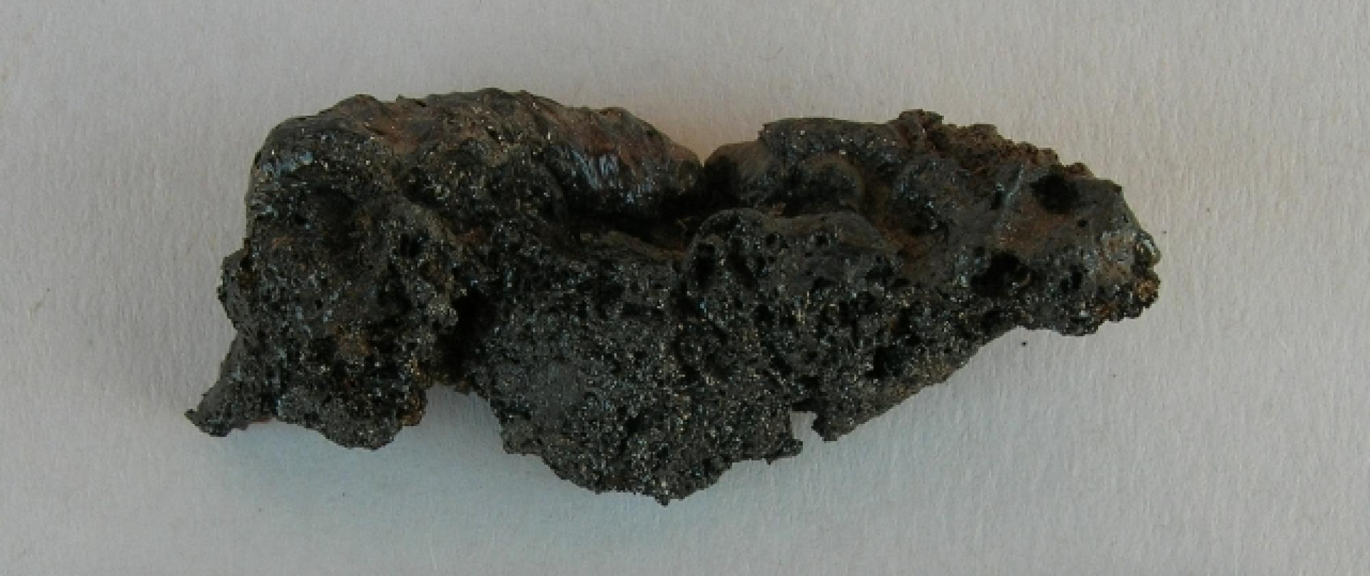 """The research team, which includes UA faculty and students, are fascinated with the recent discovery of fulgurite, or """"petrified lightning,"""" at Mt. Lykaion."""