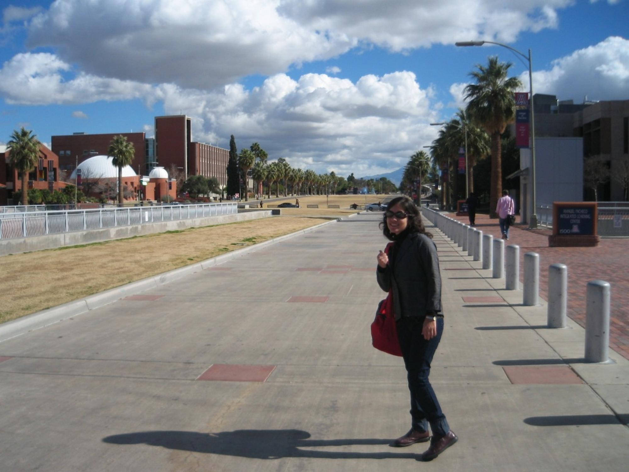 Renata Távara Rodrich, who was born and raised in Piura, Peru, participated in the Western Hemisphere Institute at the UA in 2008.