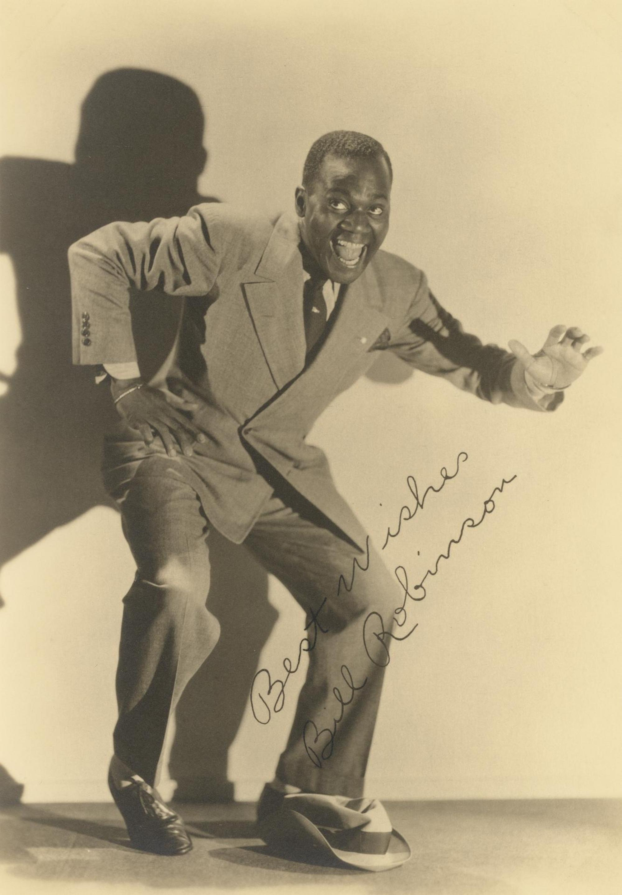 Vaudevillian Bill Robinson