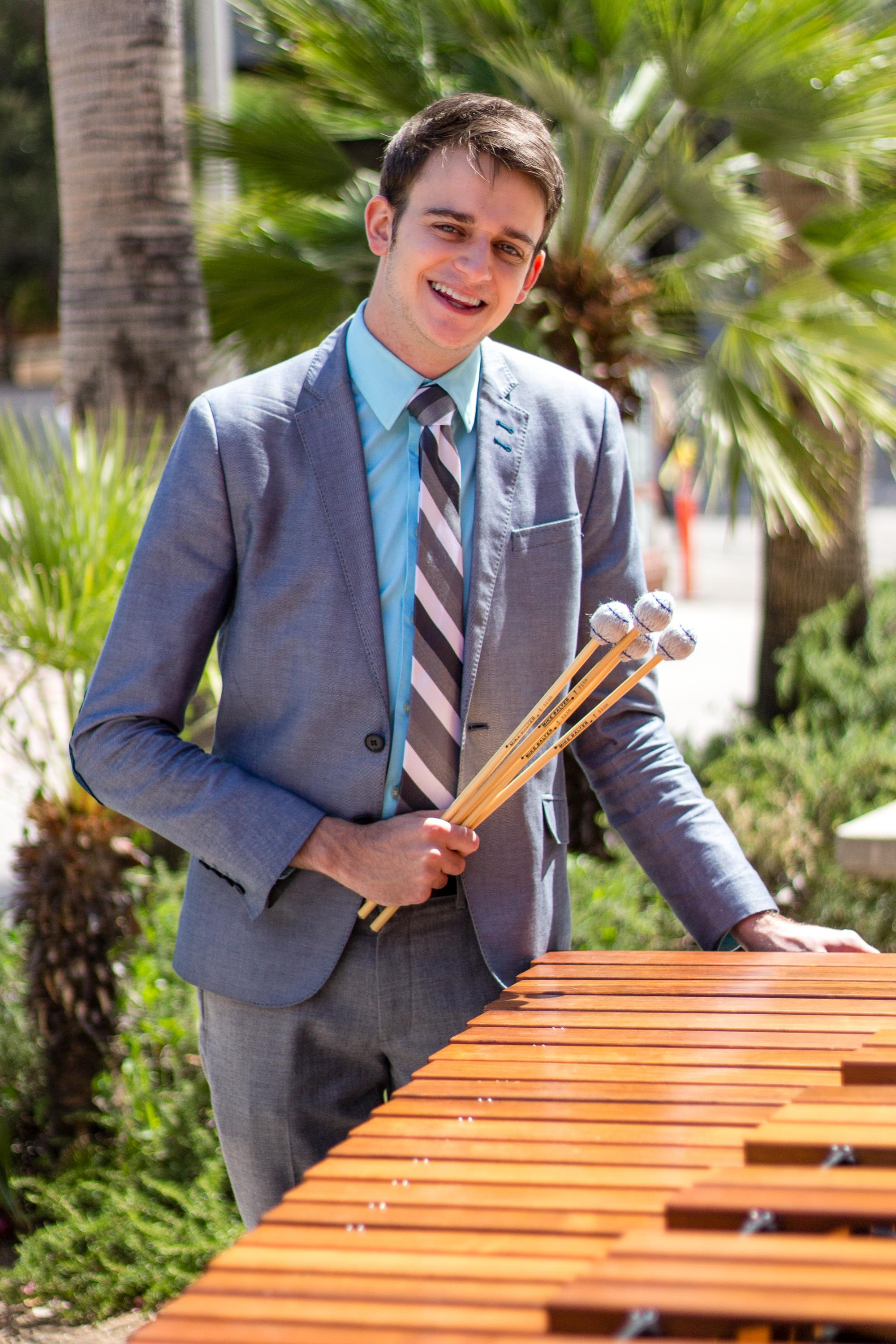 For a second consecutive year, Trevor Cameron Barroero is the gold medalist in the college division of the Tucson Symphony Orchestra's Concerto Competition and, this month, will appear as a featured soloist.
