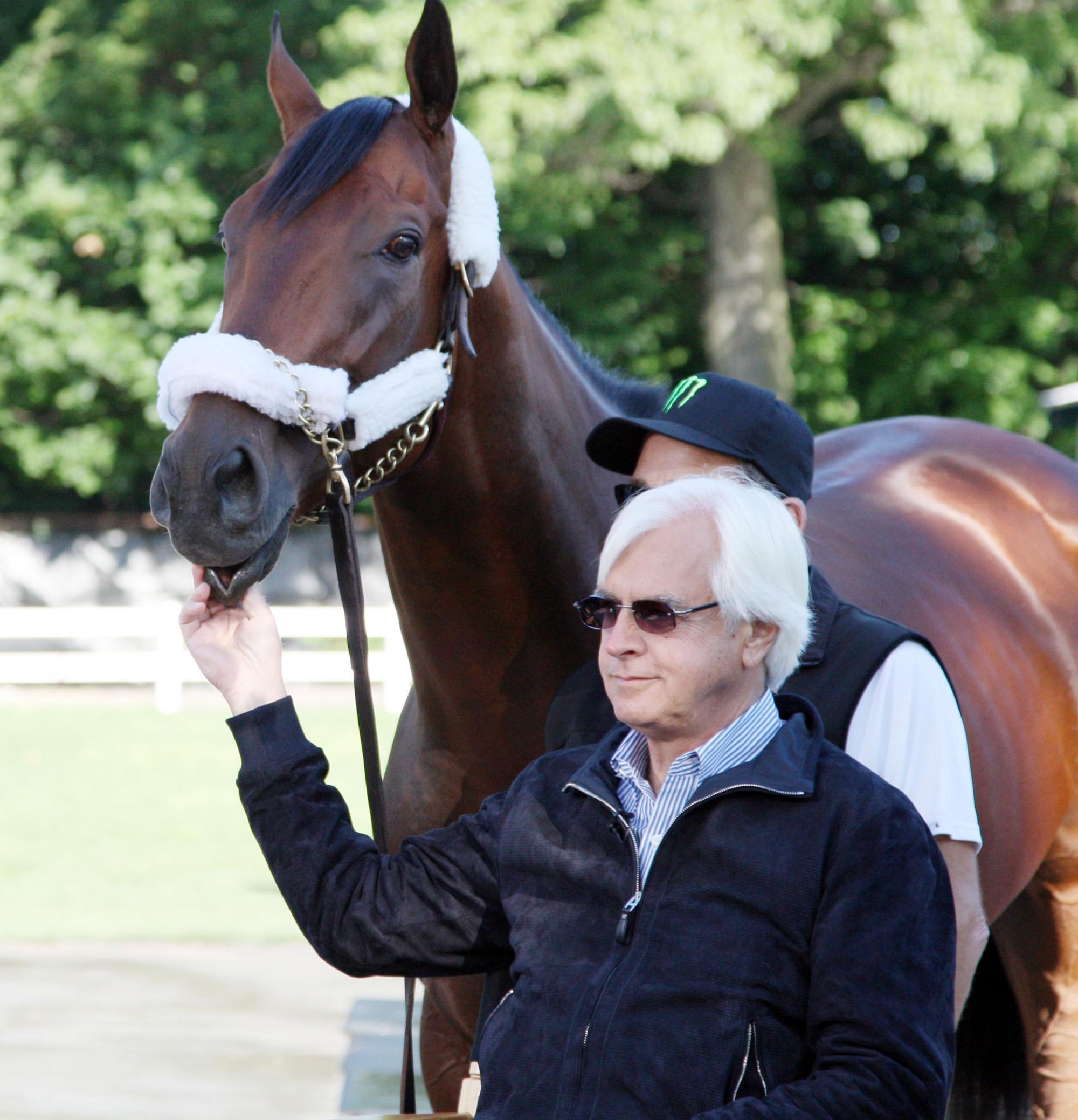 On top of the horse racing world: American Pharoah and Bob Baffert