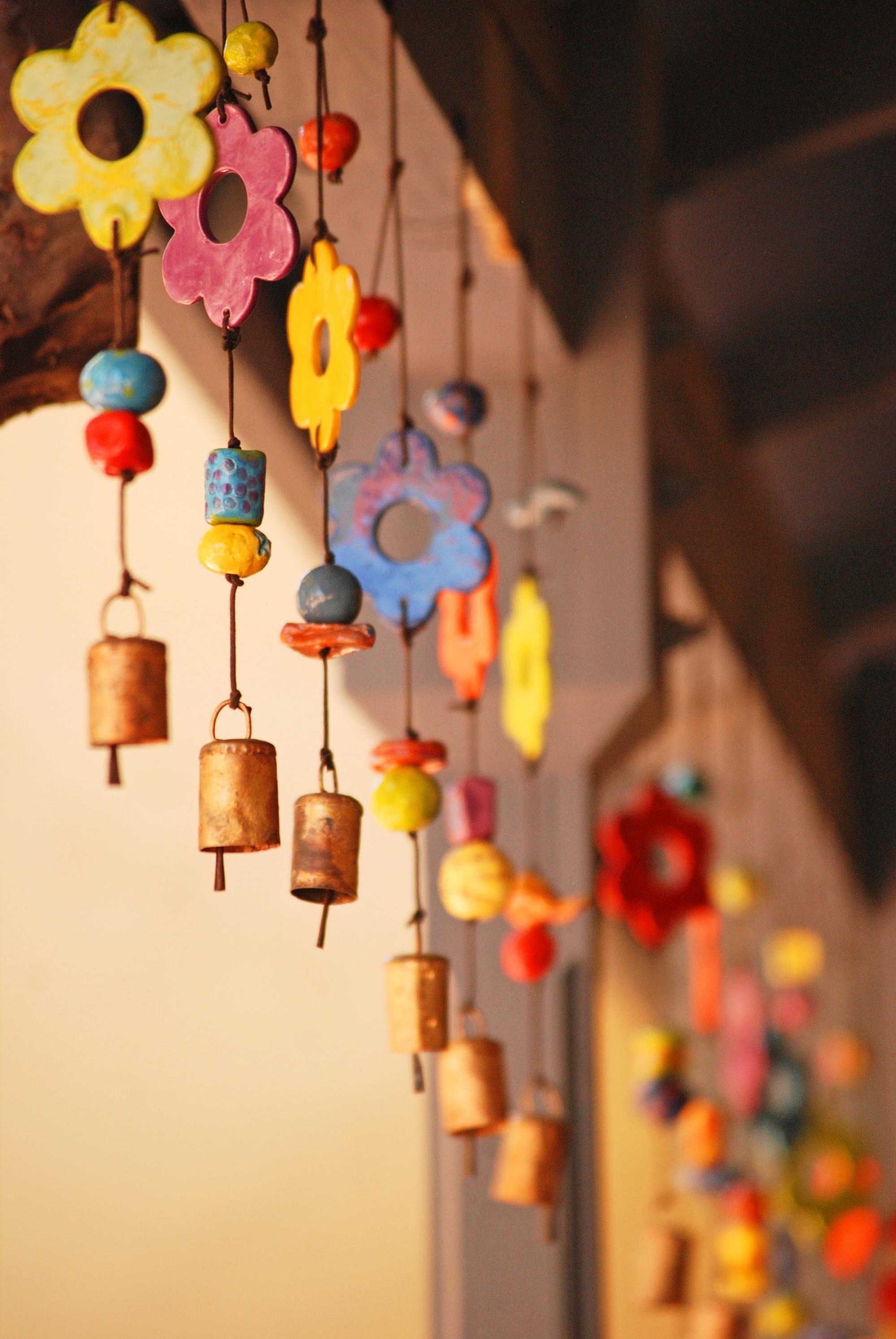 Thousands of volunteers make handmade Ben's Bells and other ceramic items.