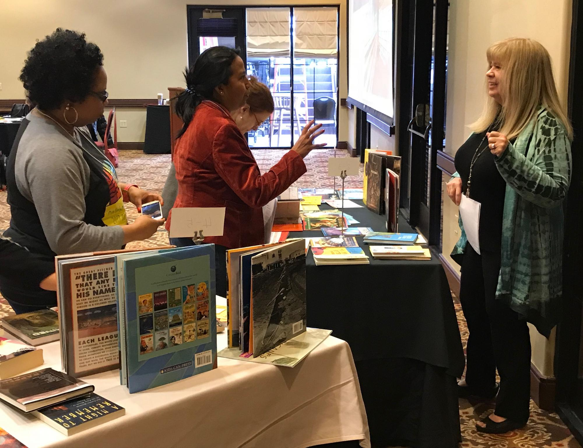 Kathy Short, project director at the Center for Educational Resources in Culture, Language and Literacy, gave a workshop at the 2018 Intercultural Competence Conference.