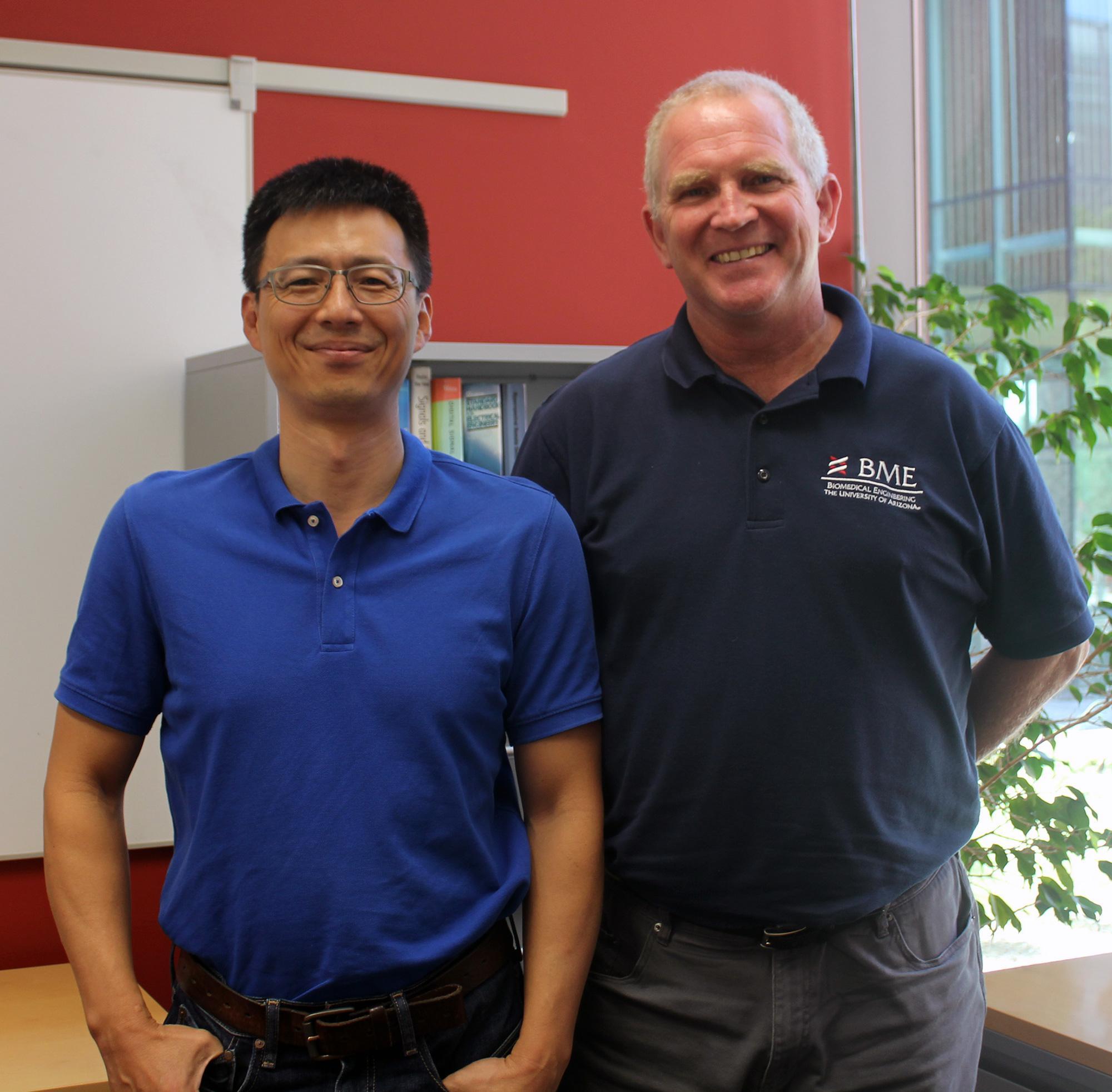 Nan-kuei Chen and Ted Trouard