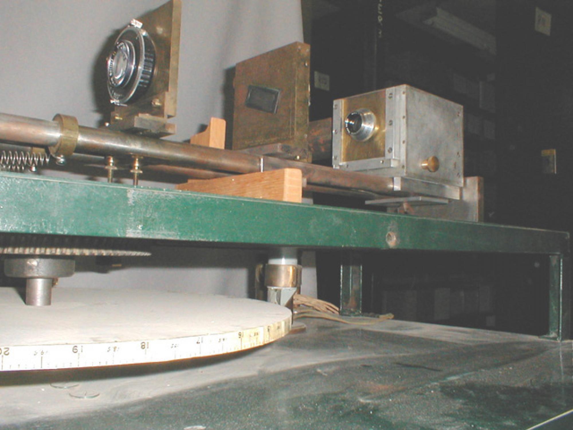 The cycloscope analyzing bench