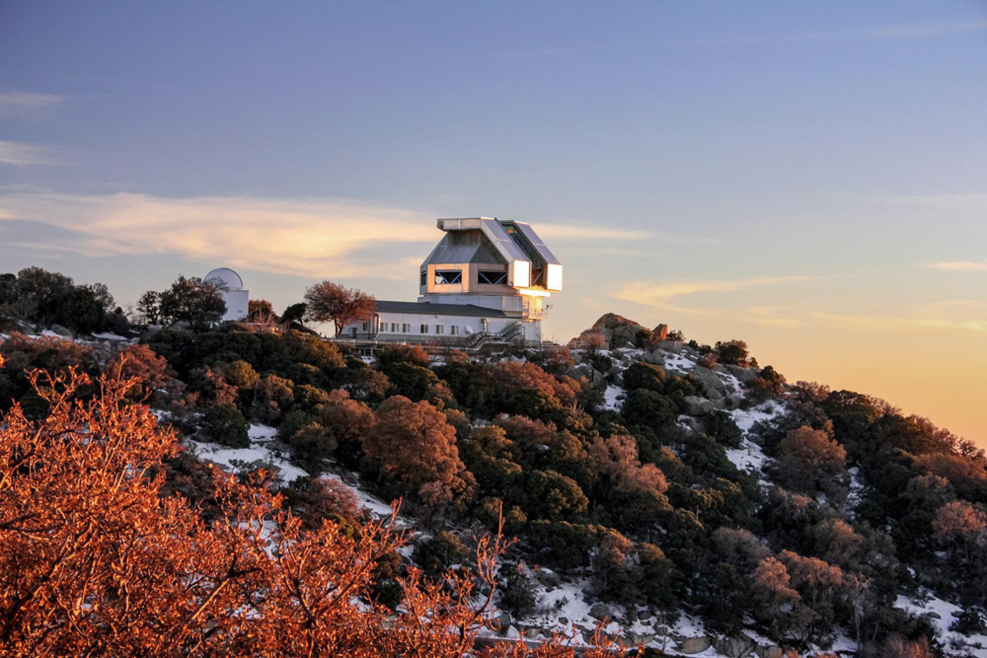 The WIYN Telescope atop Kitt Peak