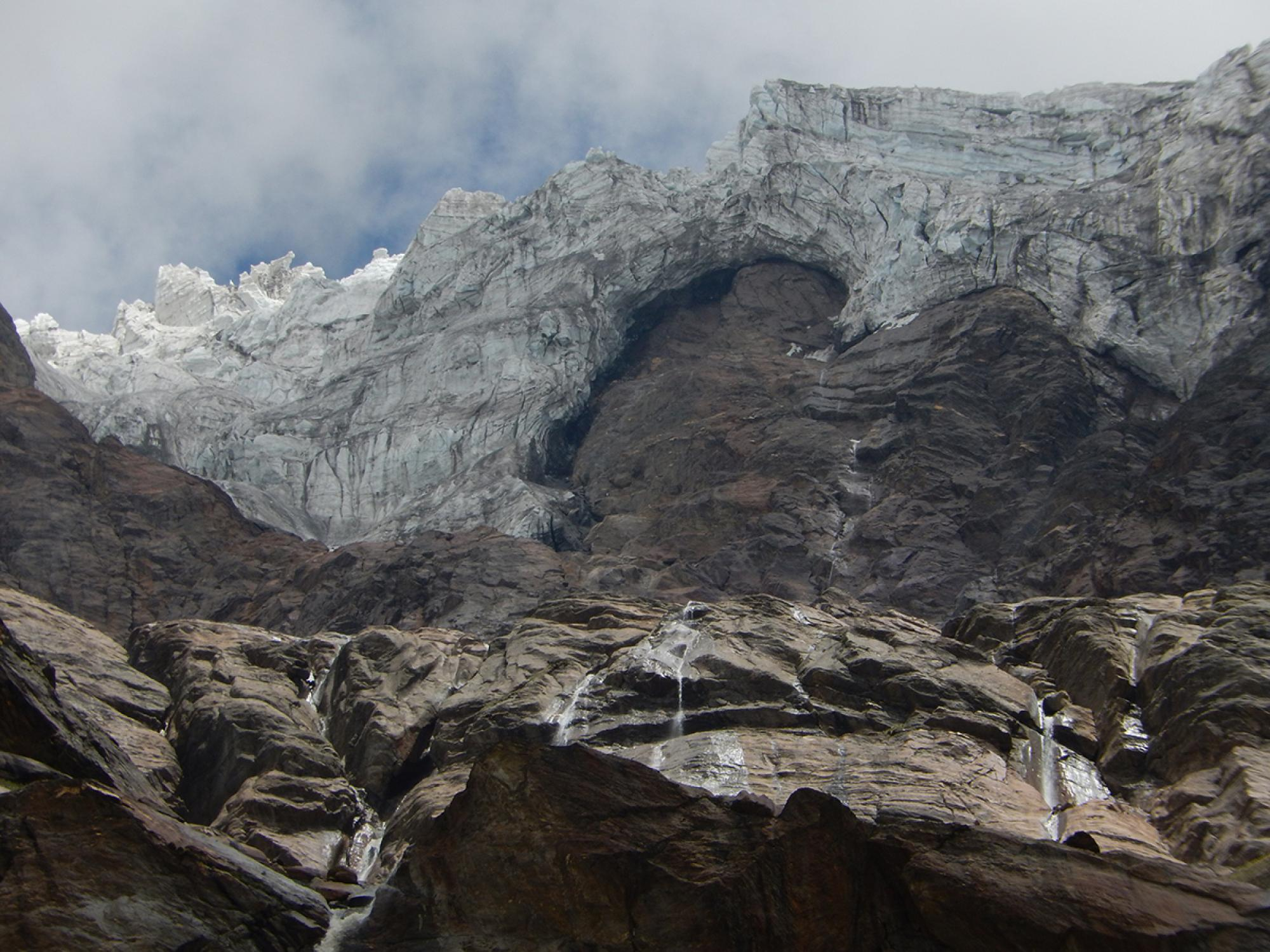 """The Hindu Kush Himalaya is commonly described as the """"water tower of Asia."""" In the HIMAP chapter on water, Scott and his co-authors wrote that the mountains """"provide two billion people a vital regional lifeline via water for food, water for energy, and wa"""