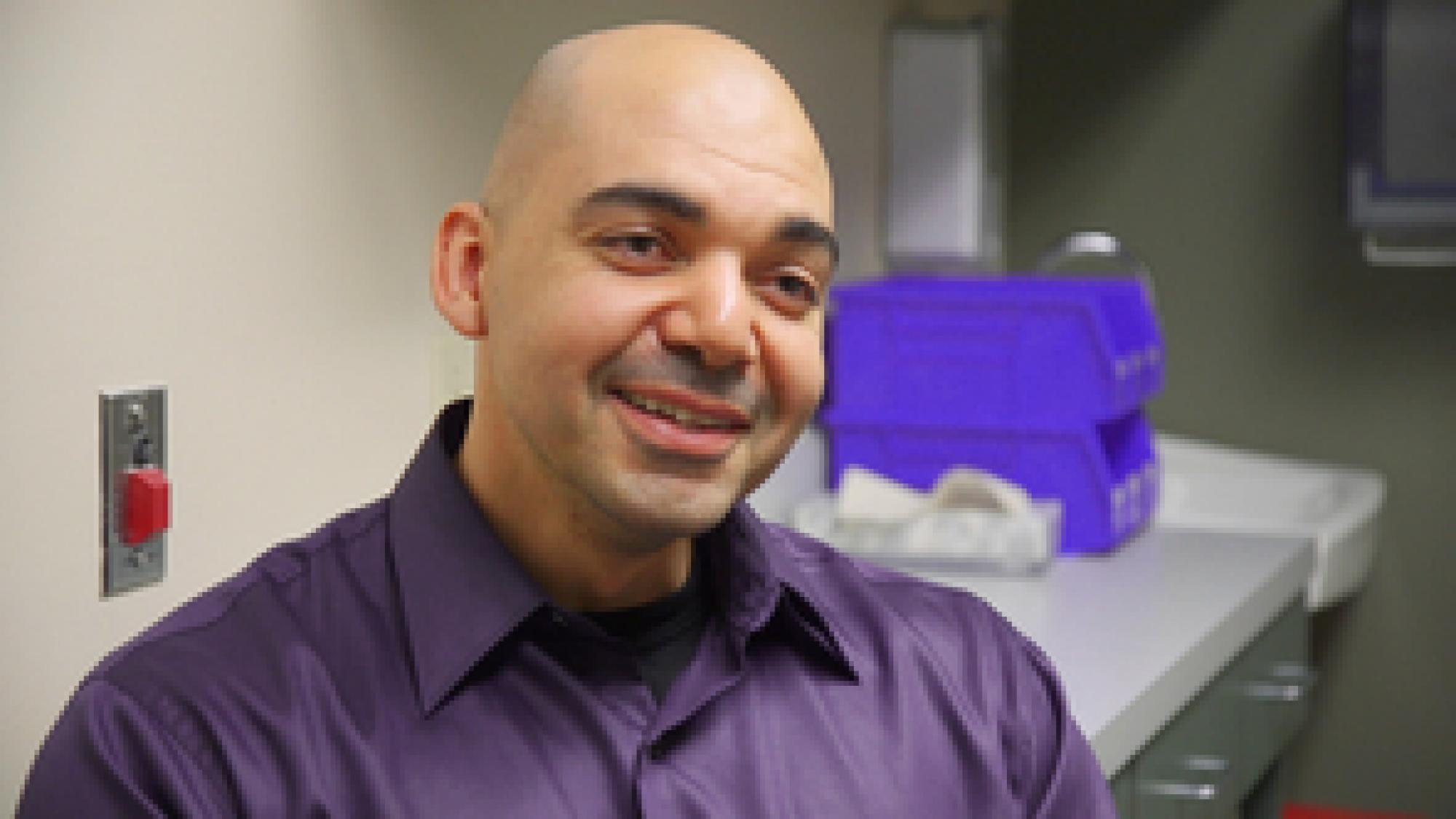 Mohab Ibrahim, M.D., director of the Chronic Pain Management Clinic at Banner - University Medical Center.