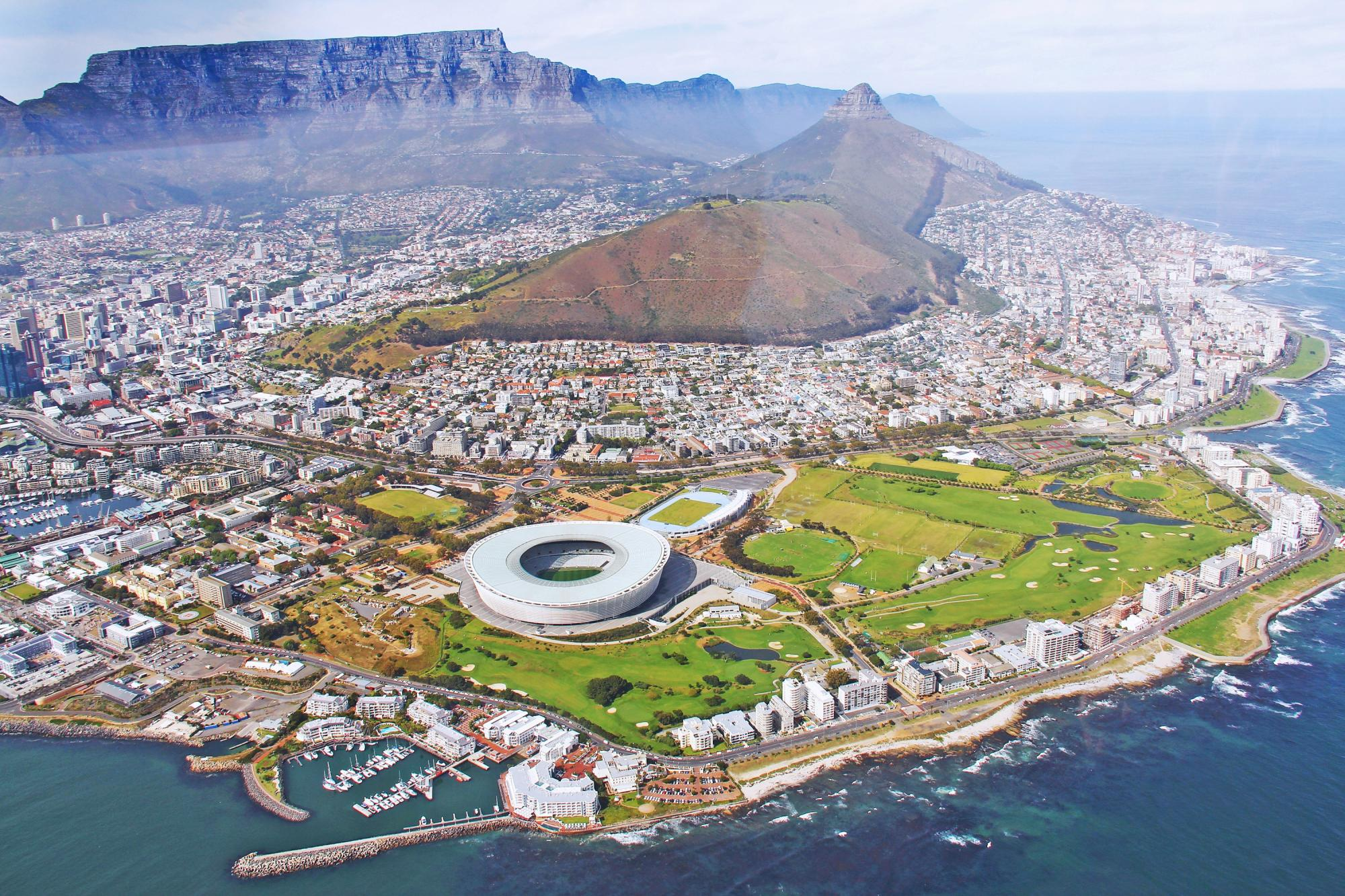 Cape Town's water supply is dependent on surface water, which is in short supply due to a multiyear drought.