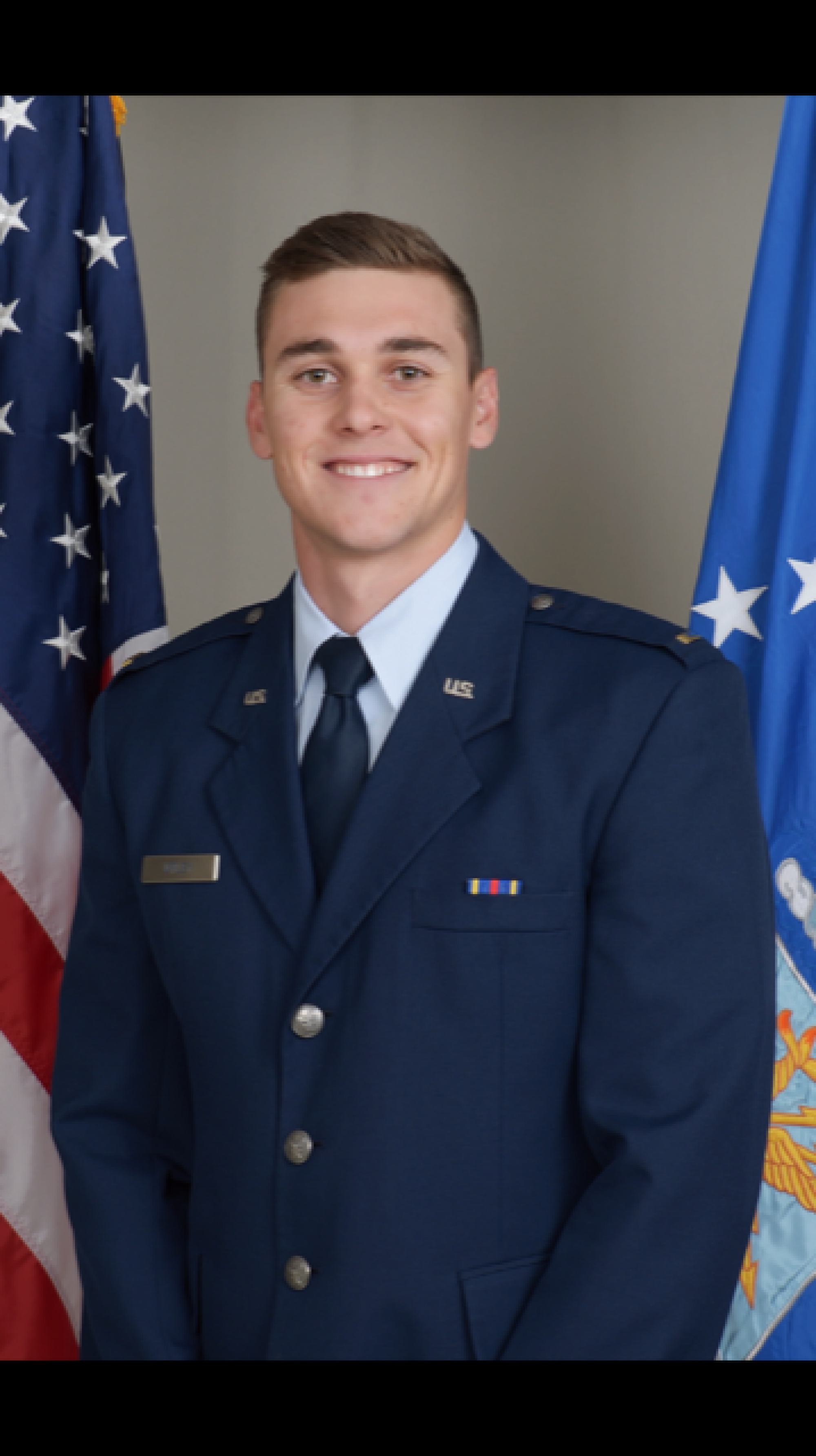Clayton Utley graduated with a degree in criminal justice and is now stationed at Macdill Airforce Base in Tampa, Florida.
