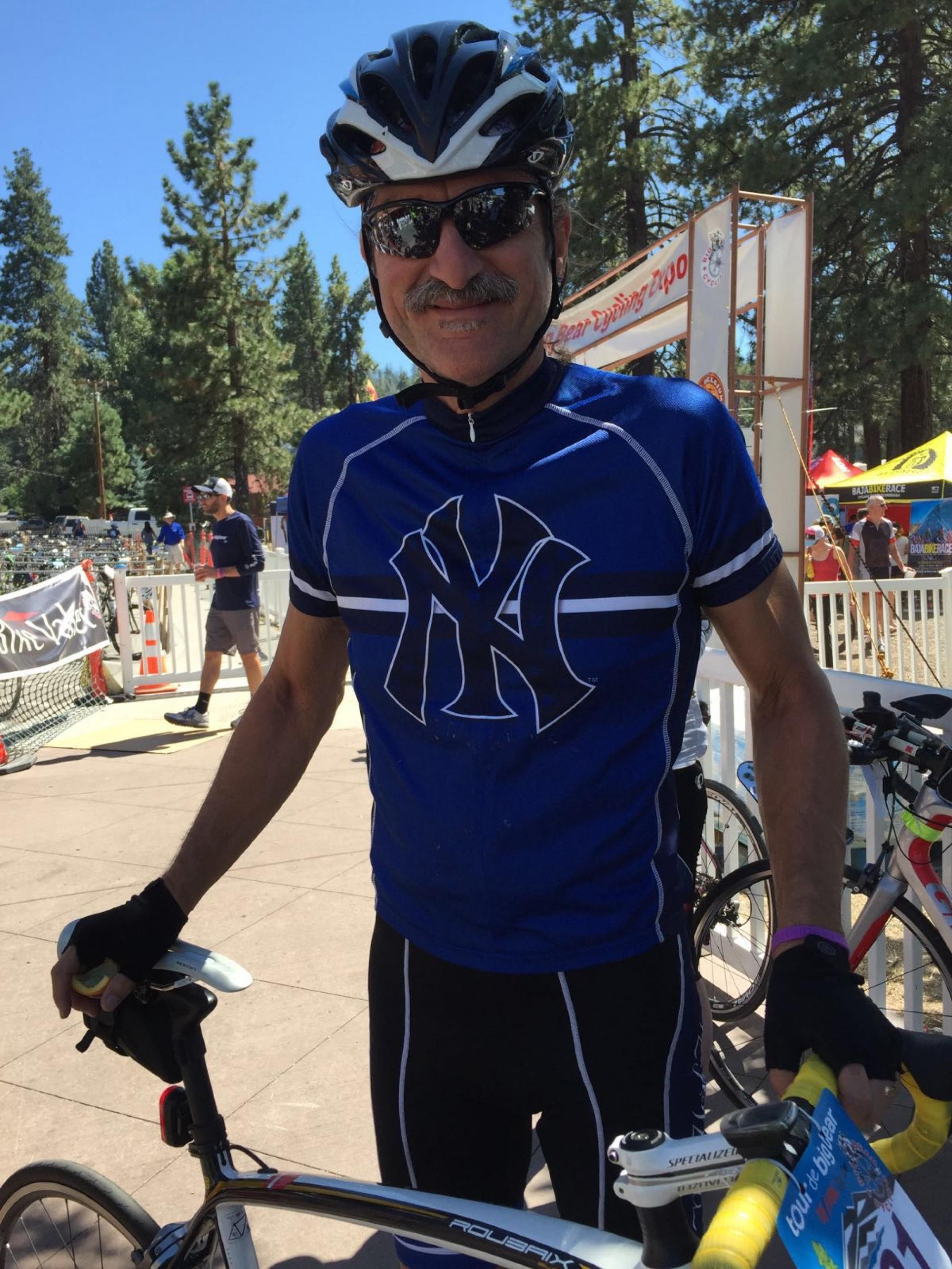 David Ortiz in 2016 at Tour de Big Bear in California.