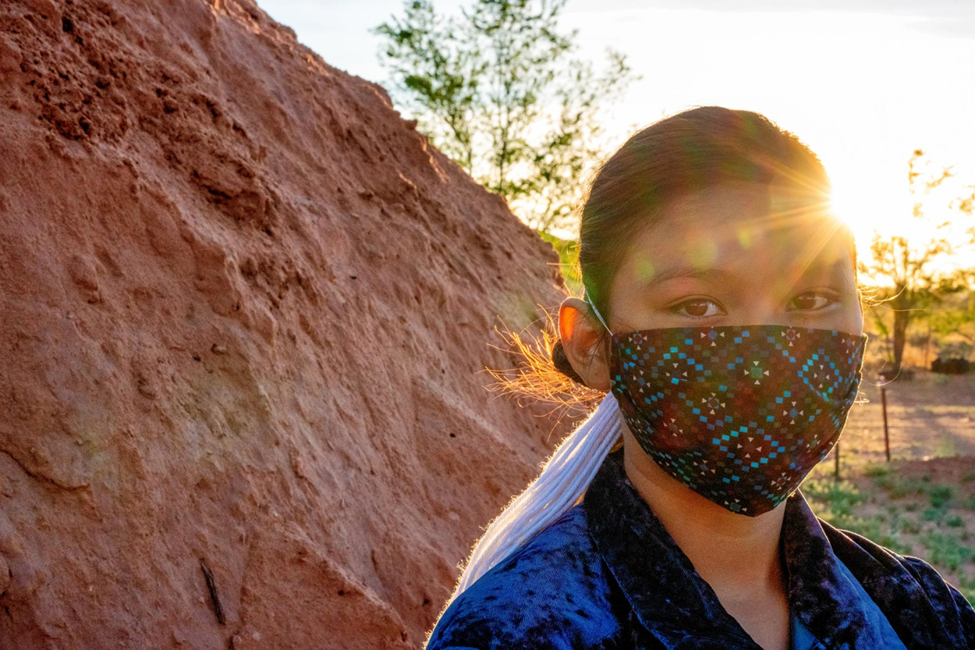 Residents of the Navajo Nation were subject to strict stay-at-home orders that included daily and weekend-long curfews, as well as mask requirements in public.