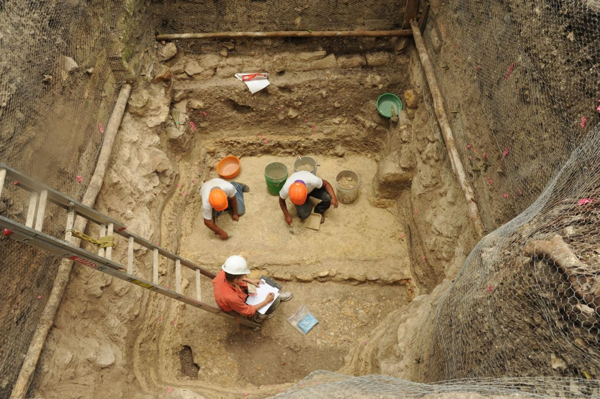 The researchers' findings are based on seven years of excavations.