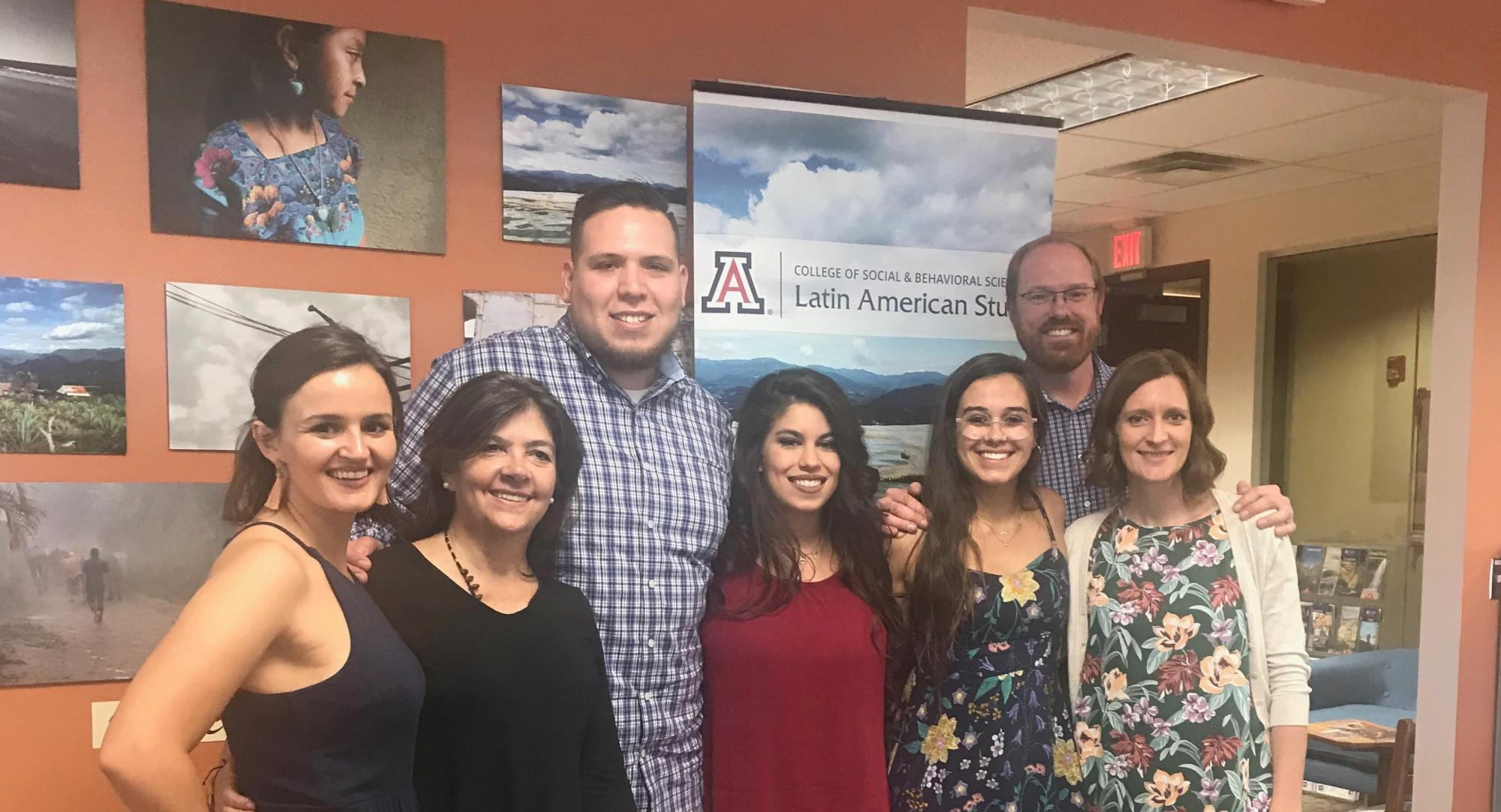 The Center for Latin America Studies team includes director Marcela Vasquez-Leon  and assistant director Colin Deeds .