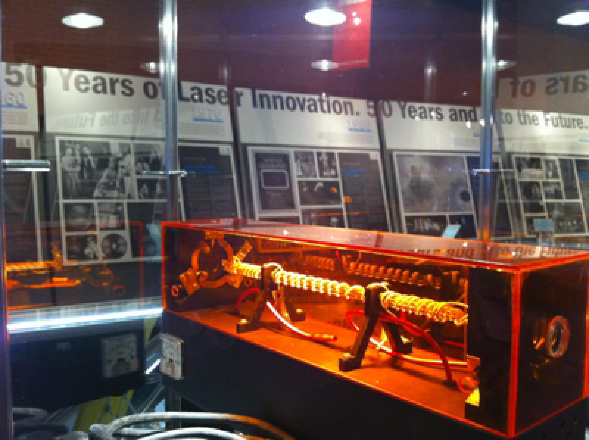 The Laser Lecture Series is part of the Laserfest Exhibit at the Flandrau Science Center.
