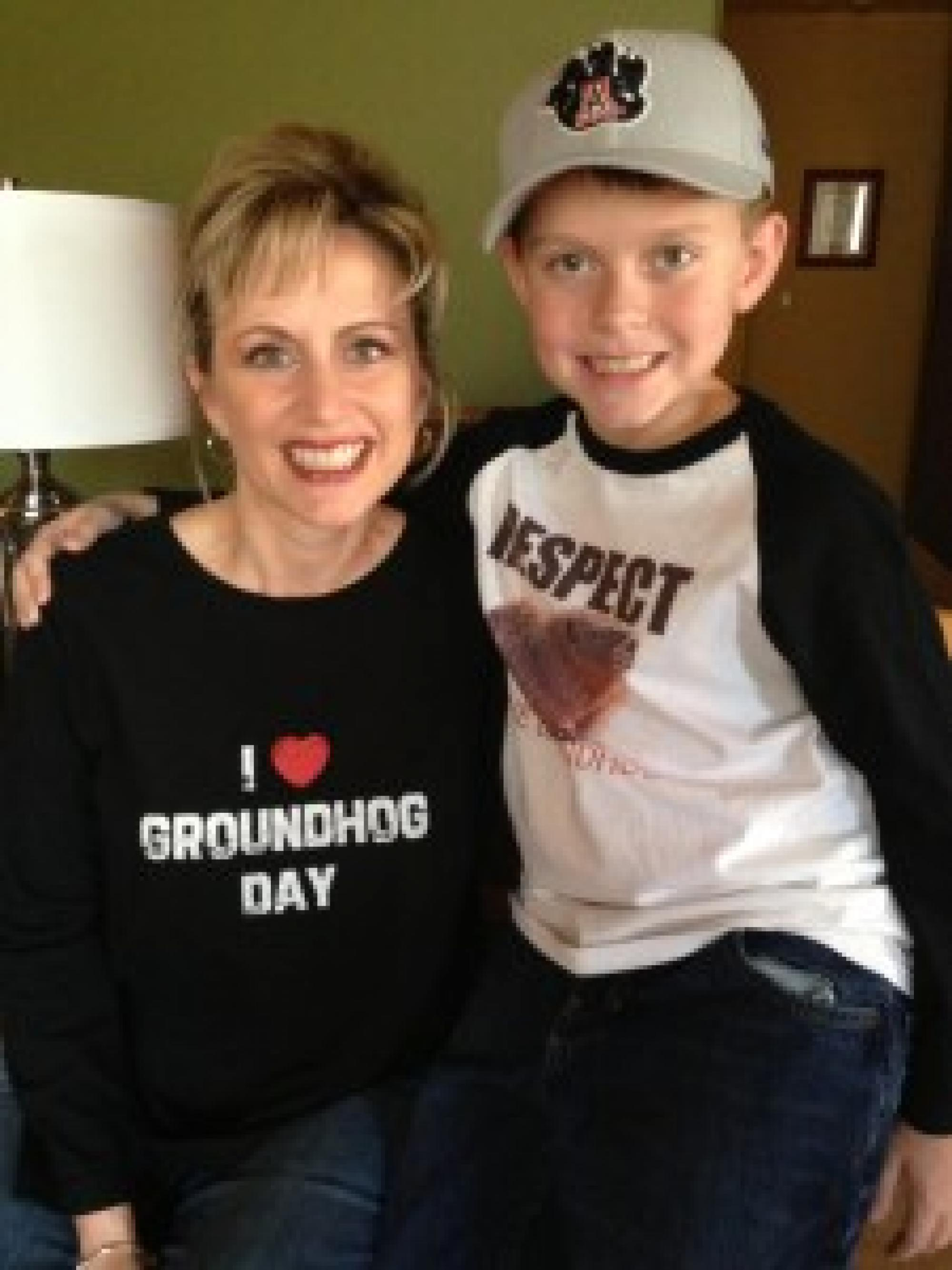 Meredith Mitstifer with her son, Ryan, is nearing her 14th year since being diagnosed with ovarian cancer.