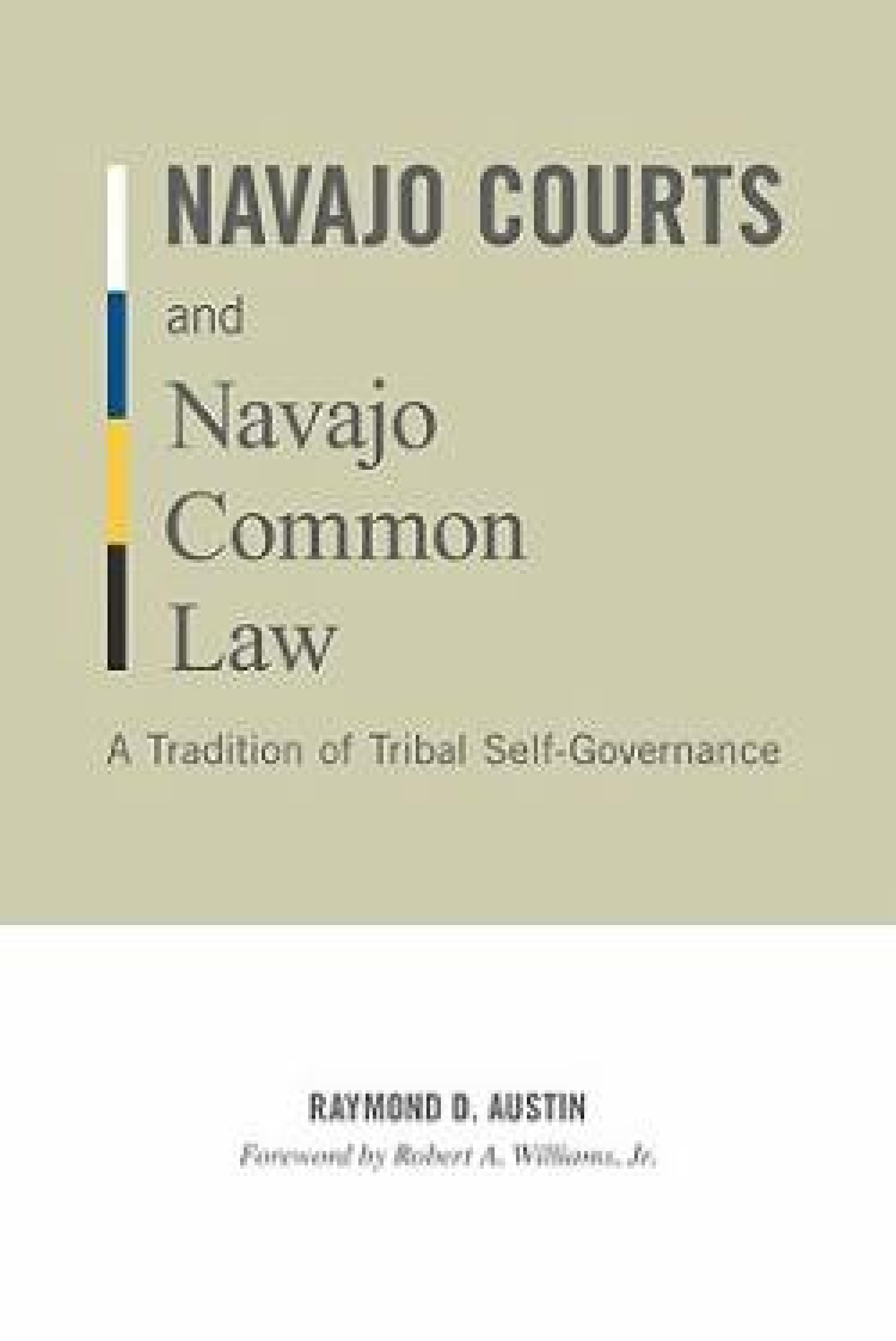 The Navajo Nation's court system is among the largest and most established tribal legal systems in the world, said Raymond D. Austin, yet few texts offer a comprehensive understand in the courts, or the customs they follow. His book is an attempt to intro