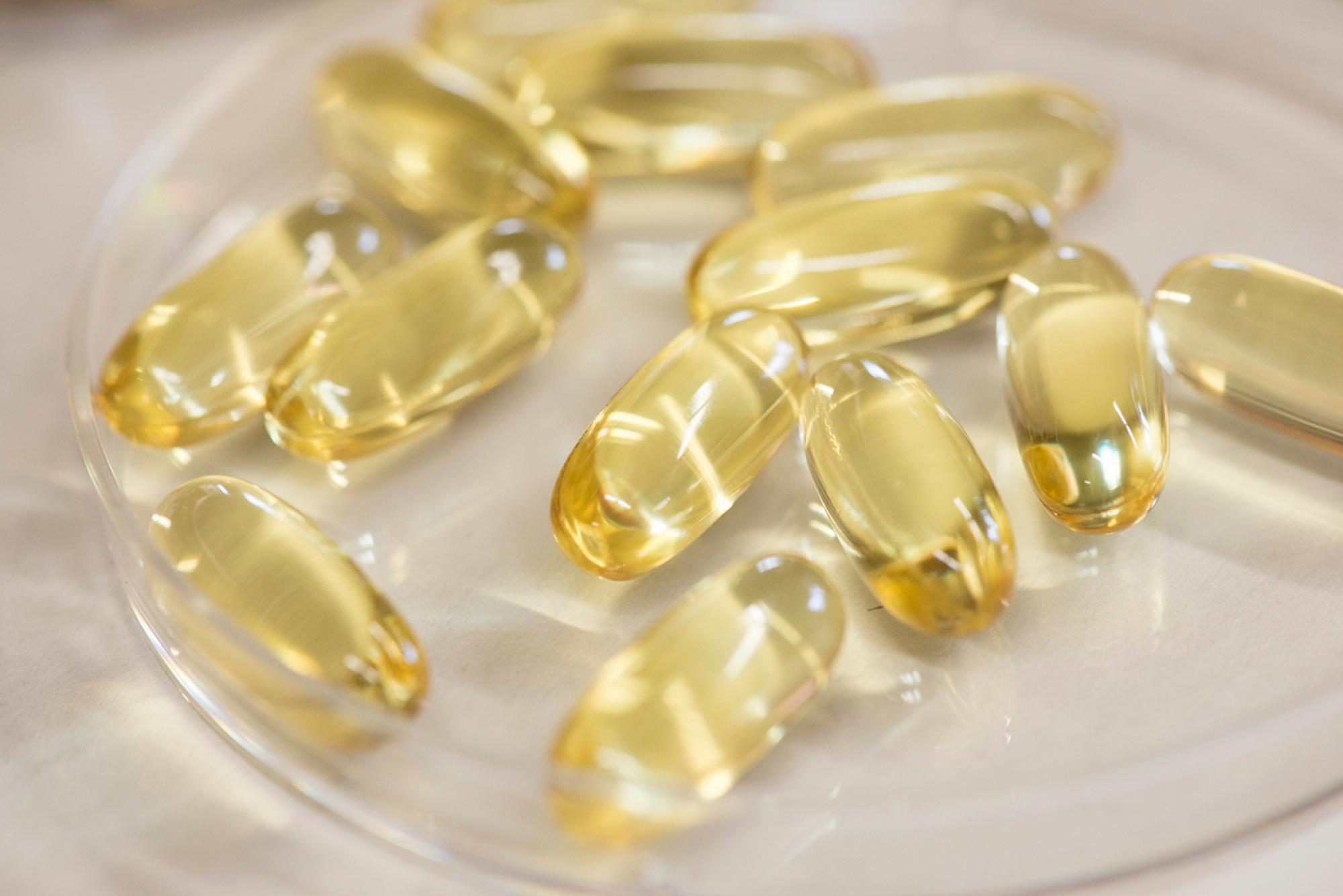 """Dietary supplements containing omega-3 fatty acids are not as strictly regulated by the FDA. They should not be used in place of prescription medication for the long-term management of high triglycerides,"" Skulas-Ray said."