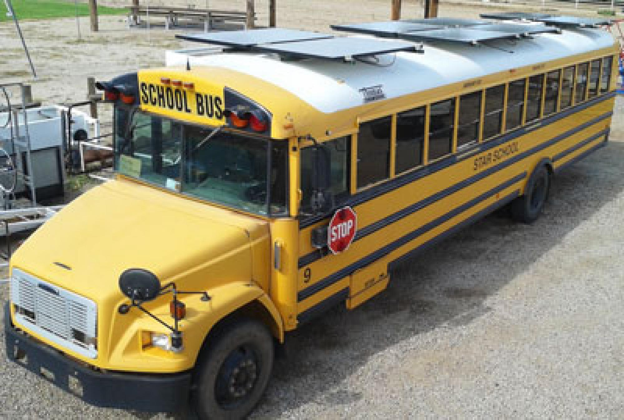 Once a team at the STAR School has become familiar with running the solar-powered desalination bus, they will take it on the road to demonstrate its water-treatment capabilities to the Navajo Nation.