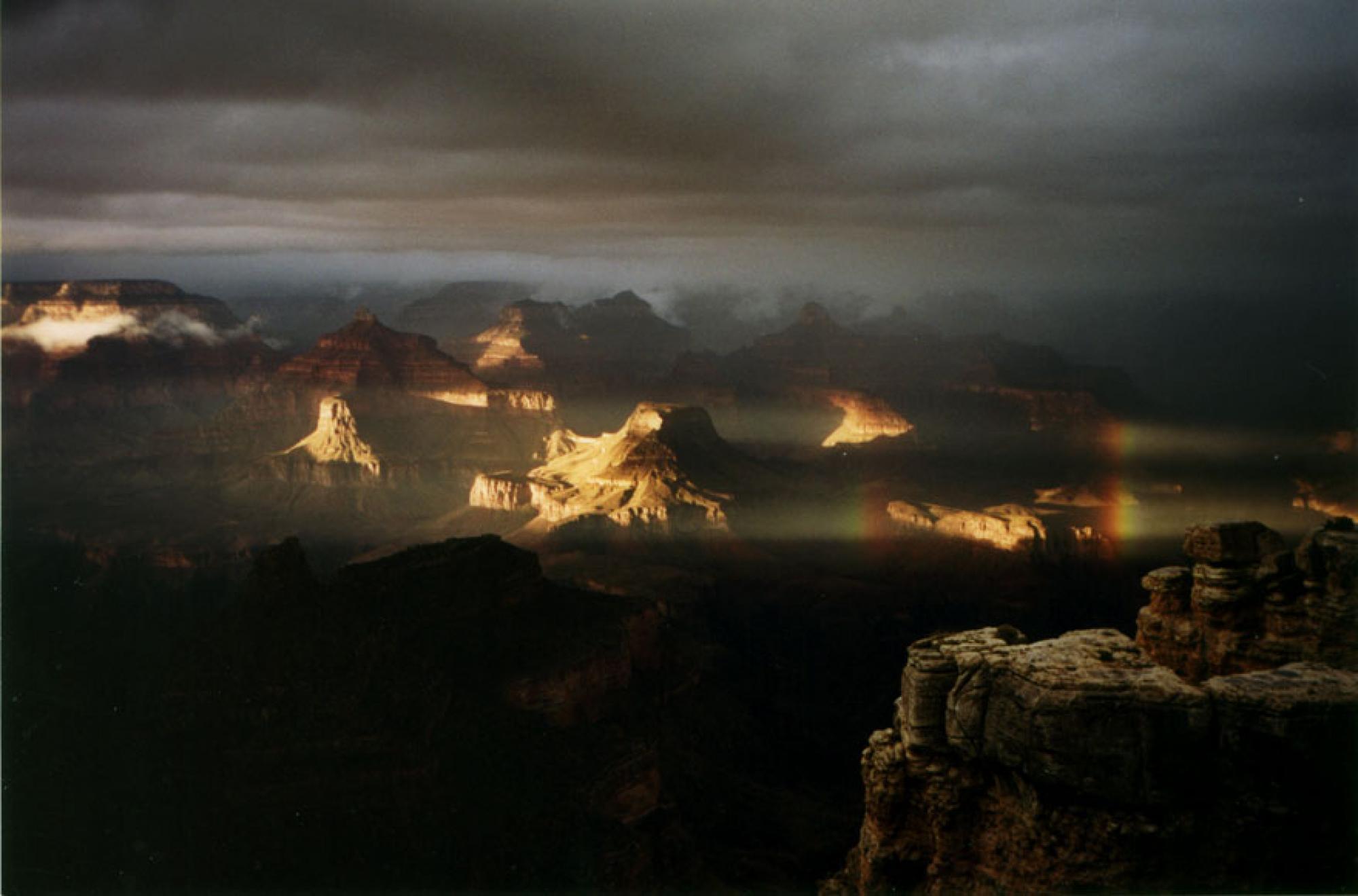 Storm over Grand Canyon, Arizona