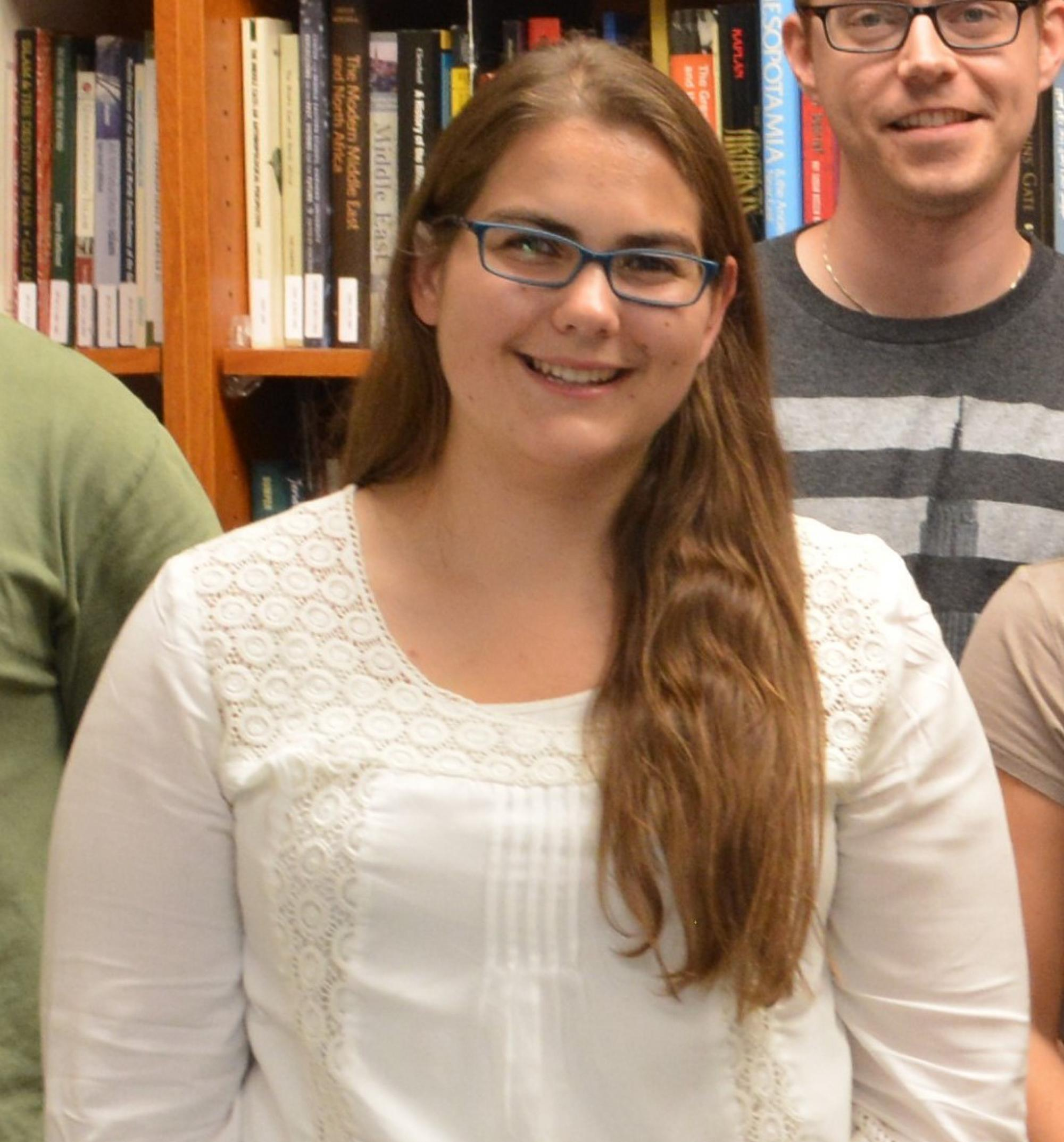 Catherine Witt parlayed a summer camp Arabic program into a bachelor's degree with triple majors in linguistics, Arabic, and Middle Eastern and North African studies. She is hoping to add a master's degree in public health to help reach her goal of workin