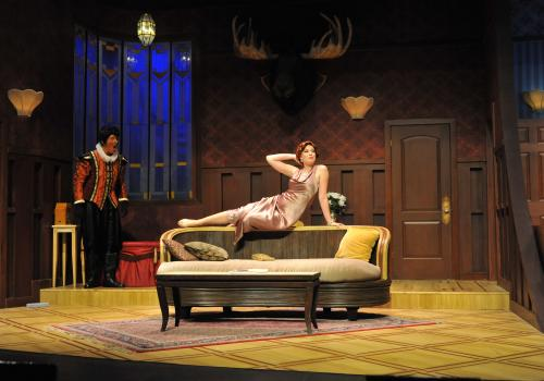 The play is full of double entendres and laugh-out-loud chain reactions.