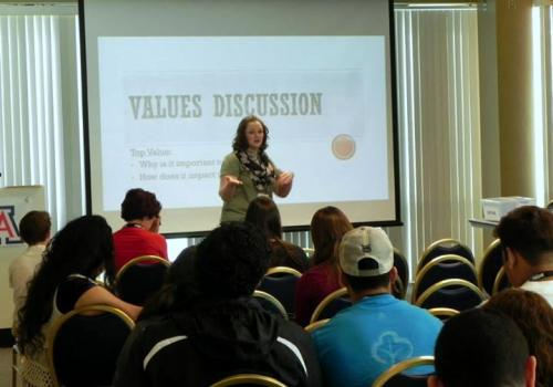 During the three-day conference, participants are able to engage in more than 80 workshops.