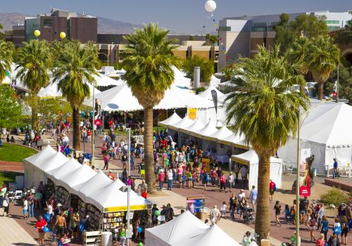 More than 130,000 people attended the Tucson Festival of Books.