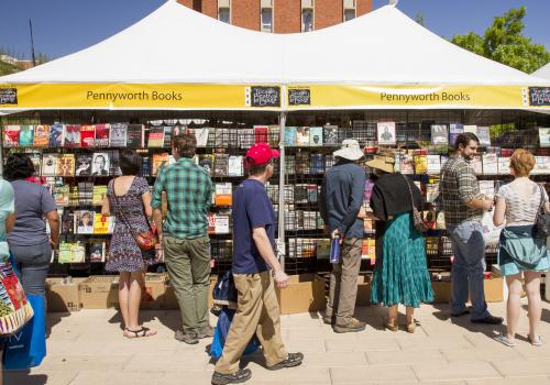 All proceeds from the festival go toward improving literacy rates in southern Arizona.