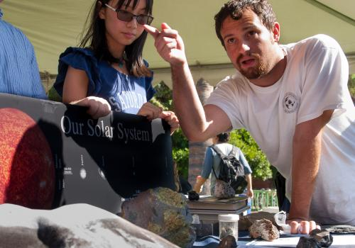 A student in the UA's Department of Geosciences explains what meteorites can tell us about the origin of the solar system.