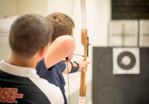 Members of the team said that while the club is meant to be fun, practicing safe archery is essential.