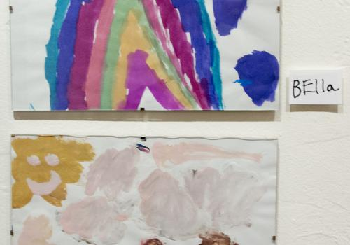 Children as young as 3 participated in the fall workshop.