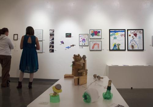Wildcat Art encourages K-12 students to explore ideas and issues through contemporary and traditional art mediums.