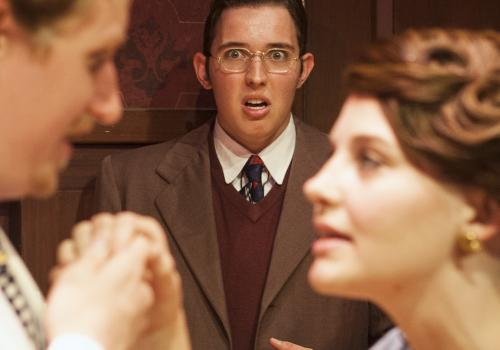 A mortified Max  catches opera singer Tito  flirting with his crush, Maggie .