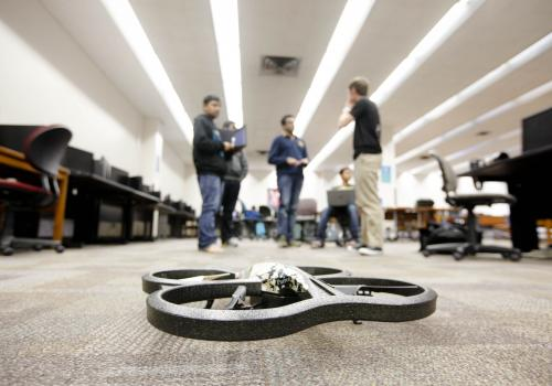 Enhancing drone technology is a popular area of focus for Hack Arizona.